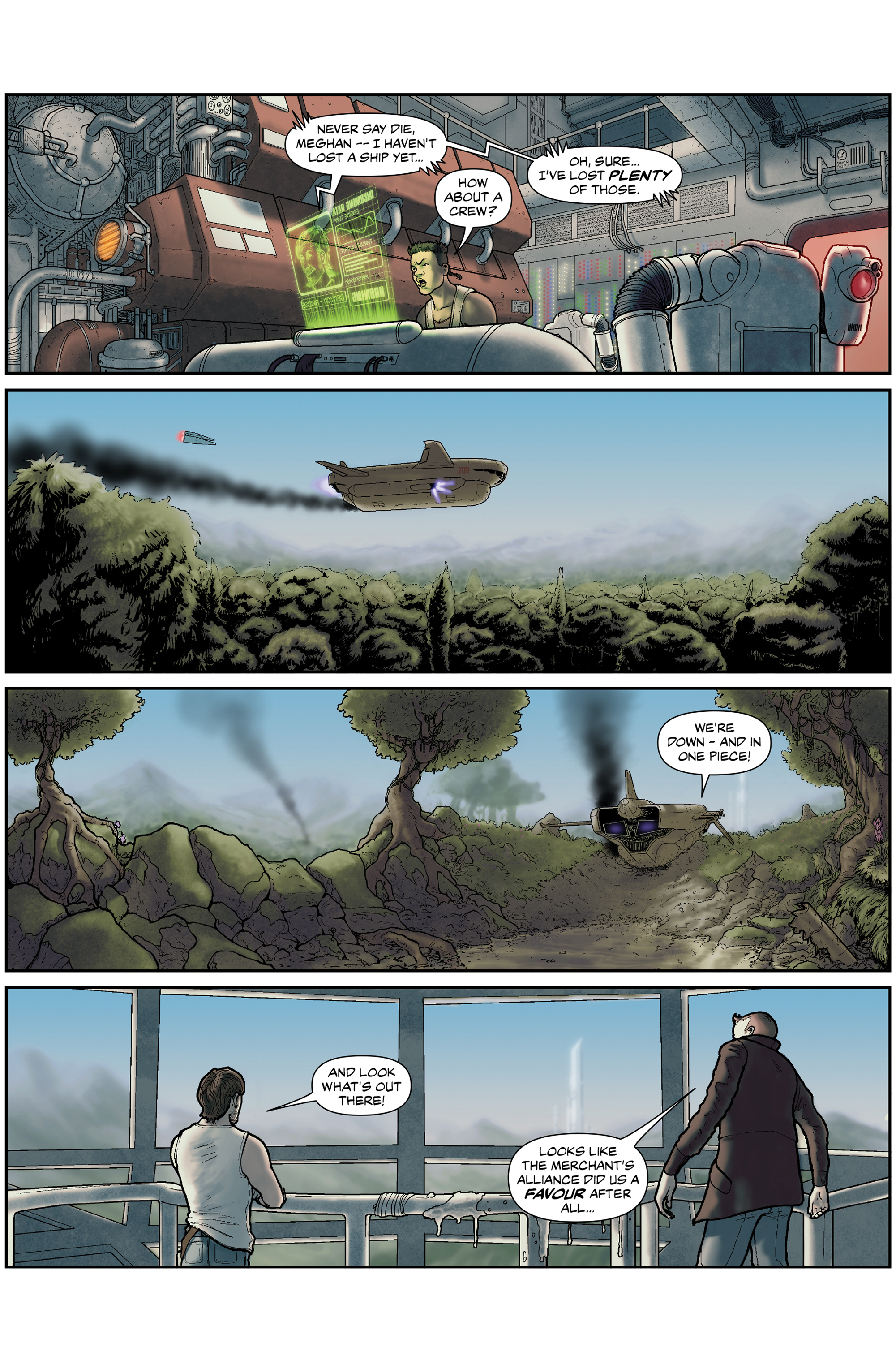 Read online 100% Biodegradable comic -  Issue #15 - 17