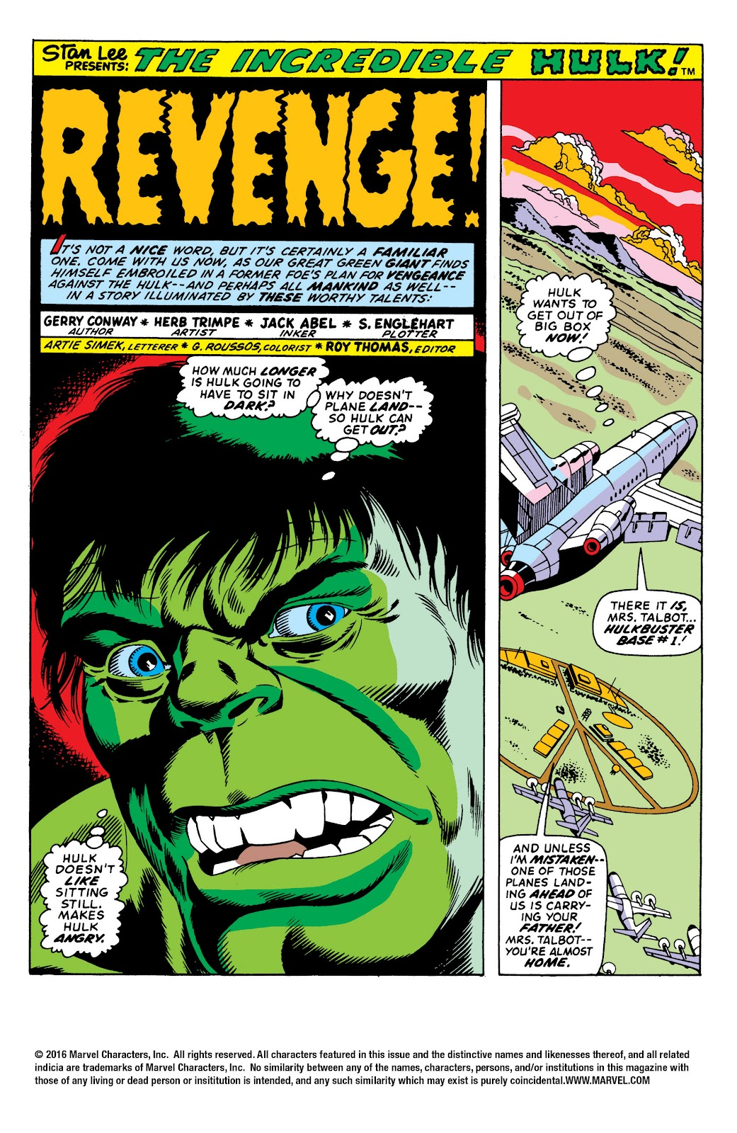 Read online Marvel Masterworks: The Incredible Hulk comic -  Issue # TPB 10 (Part 1) - 8