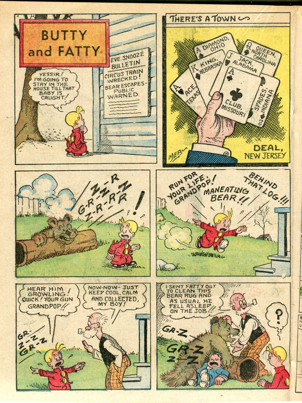 Read online Famous Funnies comic -  Issue #33 - 36