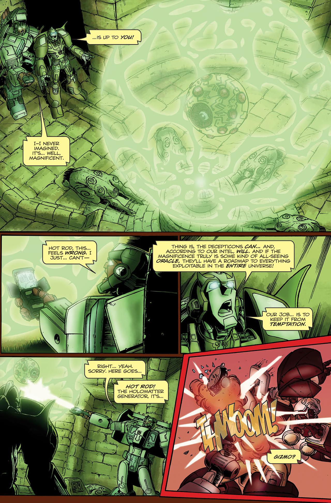 Read online Transformers Spotlight: Hot Rod comic -  Issue # Full - 15