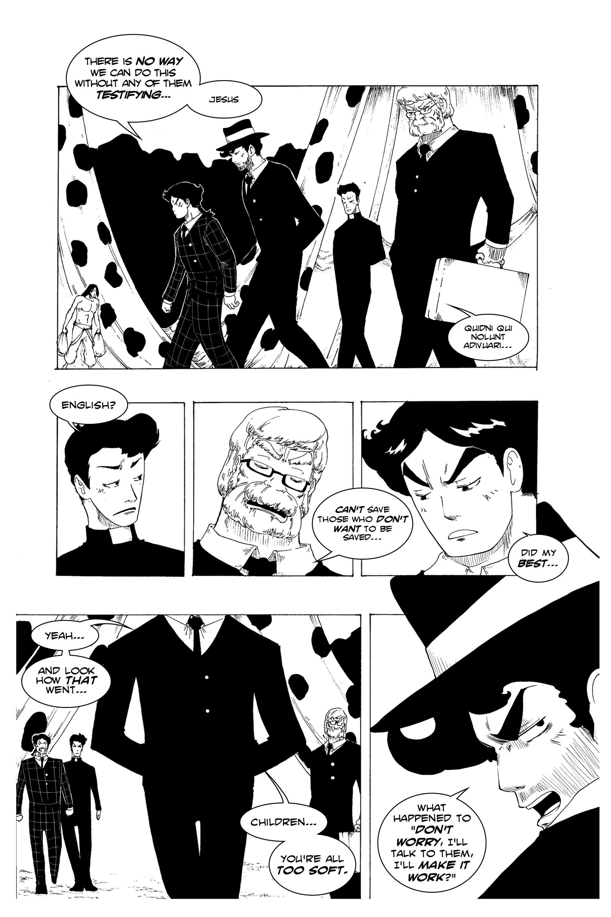 Read online Silvertongue 30xx Vol. 1 comic -  Issue # Full - 27