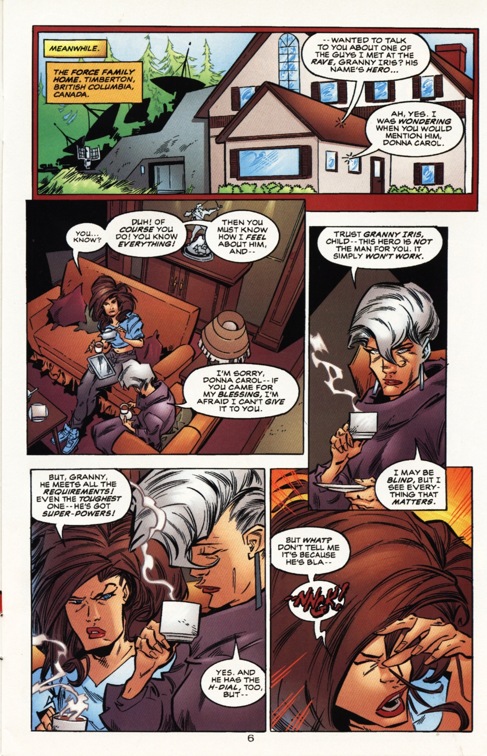 Read online Superboy & The Ravers comic -  Issue #10 - 7