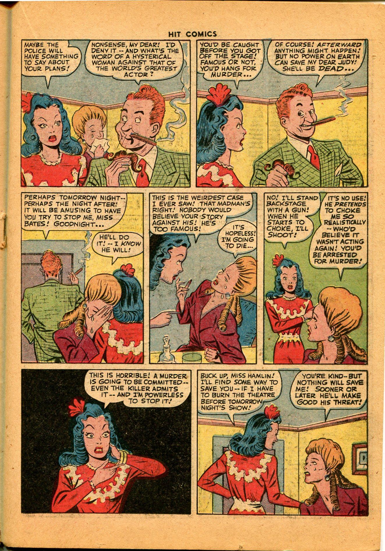 Read online Hit Comics comic -  Issue #35 - 33