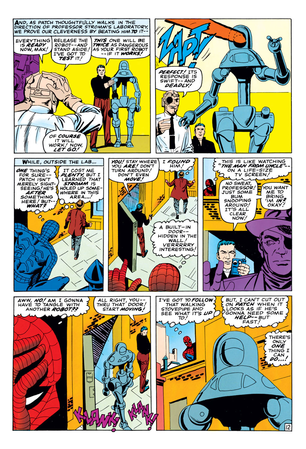 The Amazing Spider-Man (1963) 37 Page 12