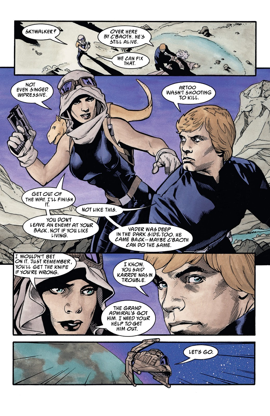 Read online Star Wars Legends: The New Republic - Epic Collection comic -  Issue # TPB 4 (Part 3) - 47