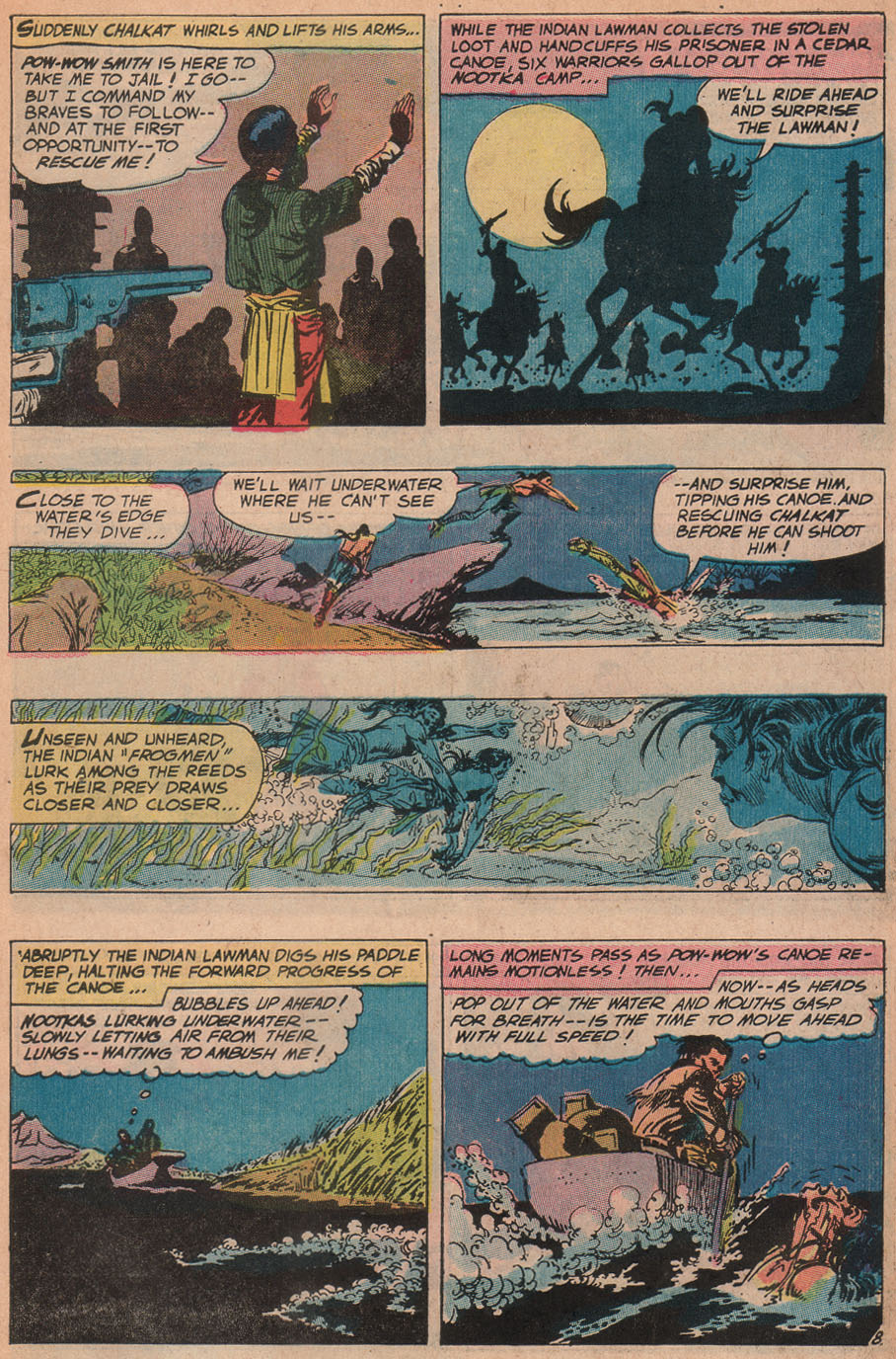 Read online All-Star Western (1970) comic -  Issue #9 - 11