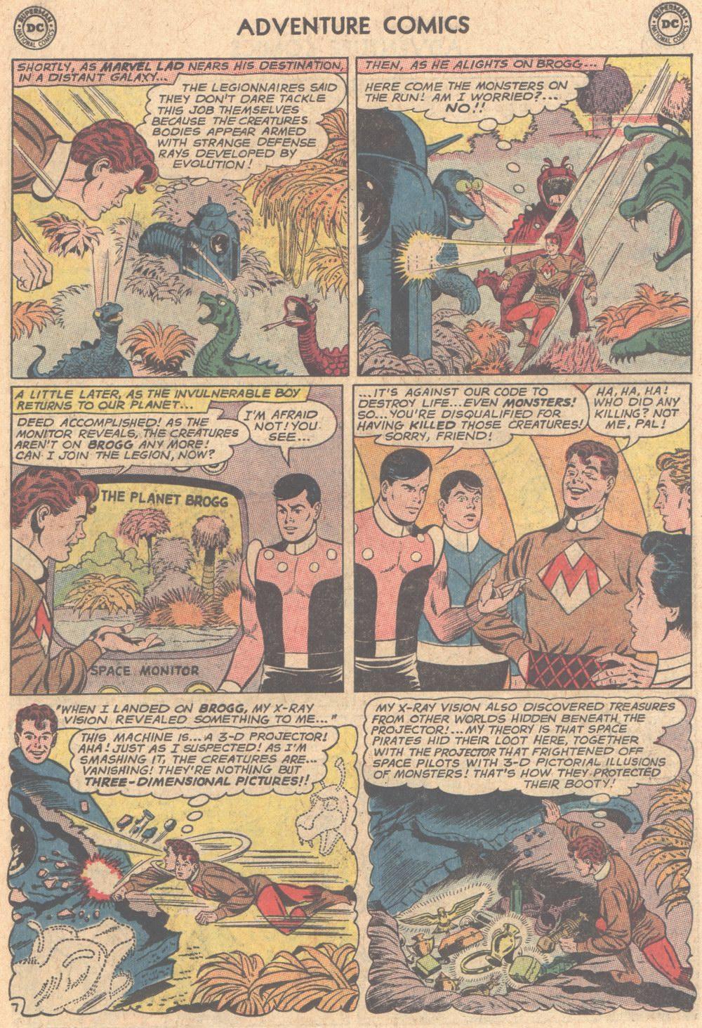 Read online Adventure Comics (1938) comic -  Issue #305 - 23