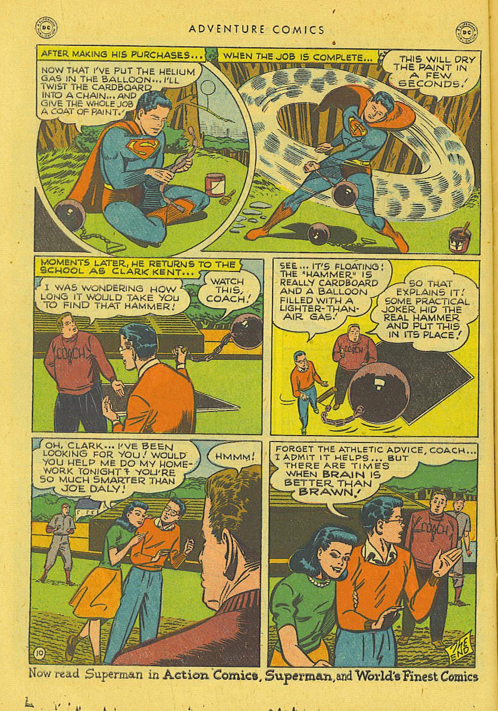 Read online Adventure Comics (1938) comic -  Issue #131 - 11