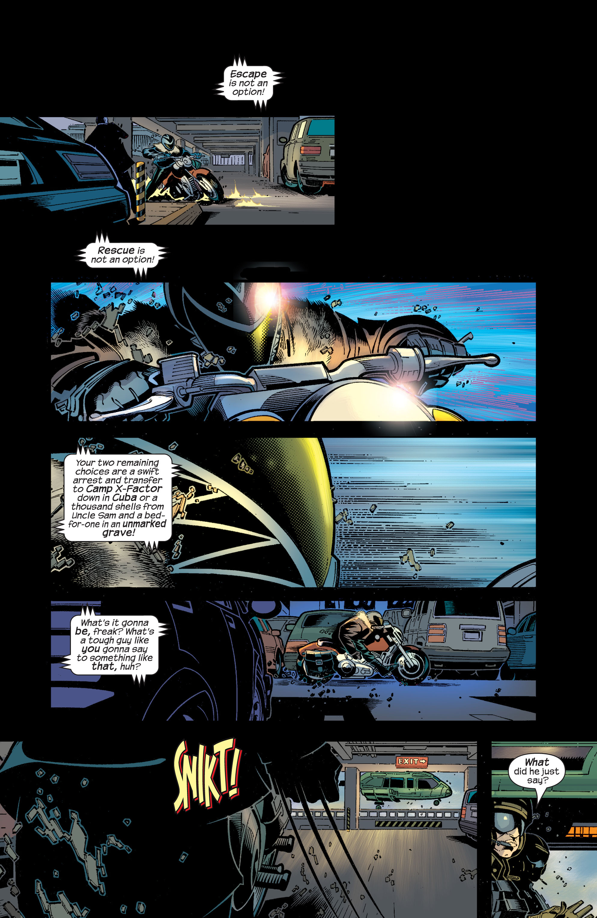Read online Ultimate War comic -  Issue #4 - 6