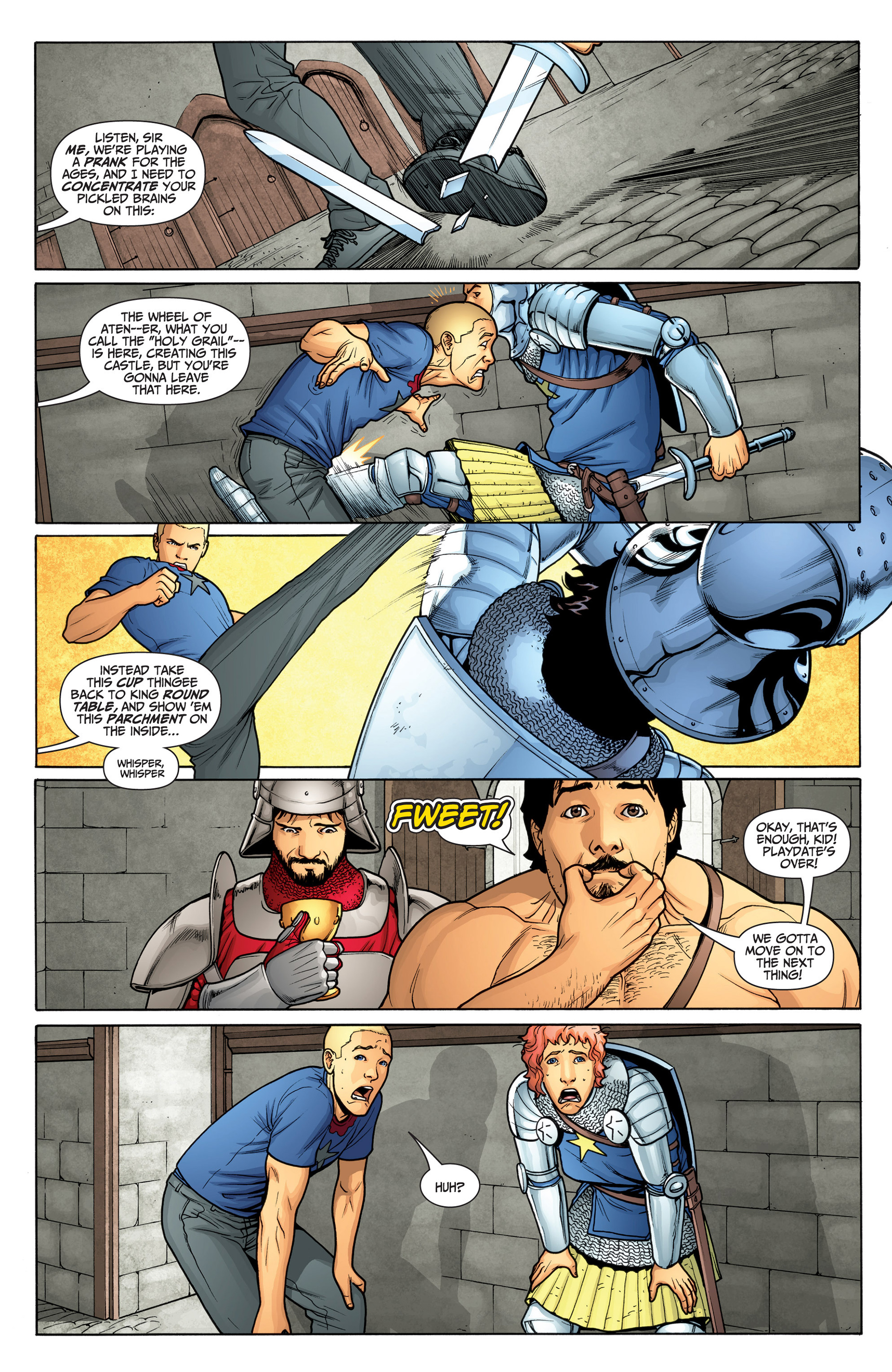 Read online Archer and Armstrong comic -  Issue #23 - 14