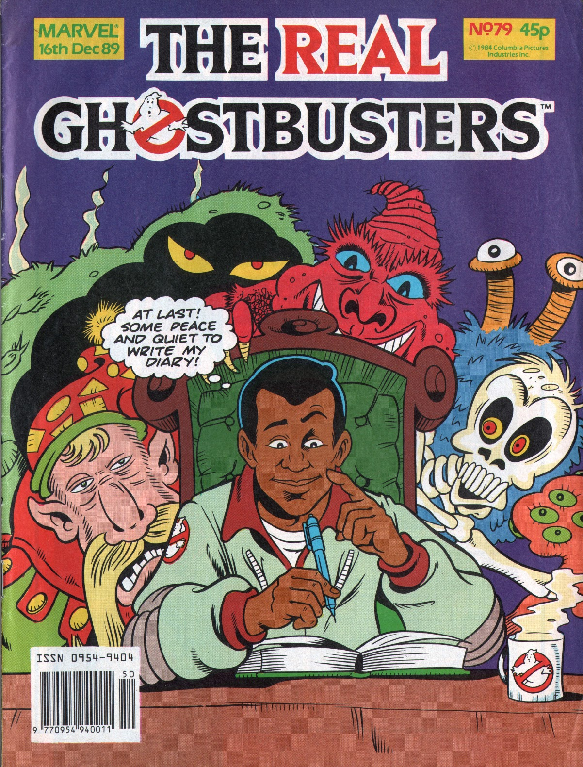 The Real Ghostbusters 79 Page 1