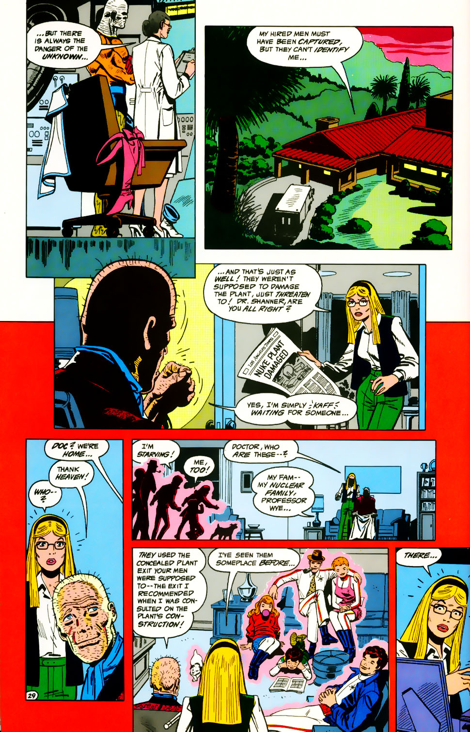 Read online Adventures of the Outsiders comic -  Issue #39 - 30