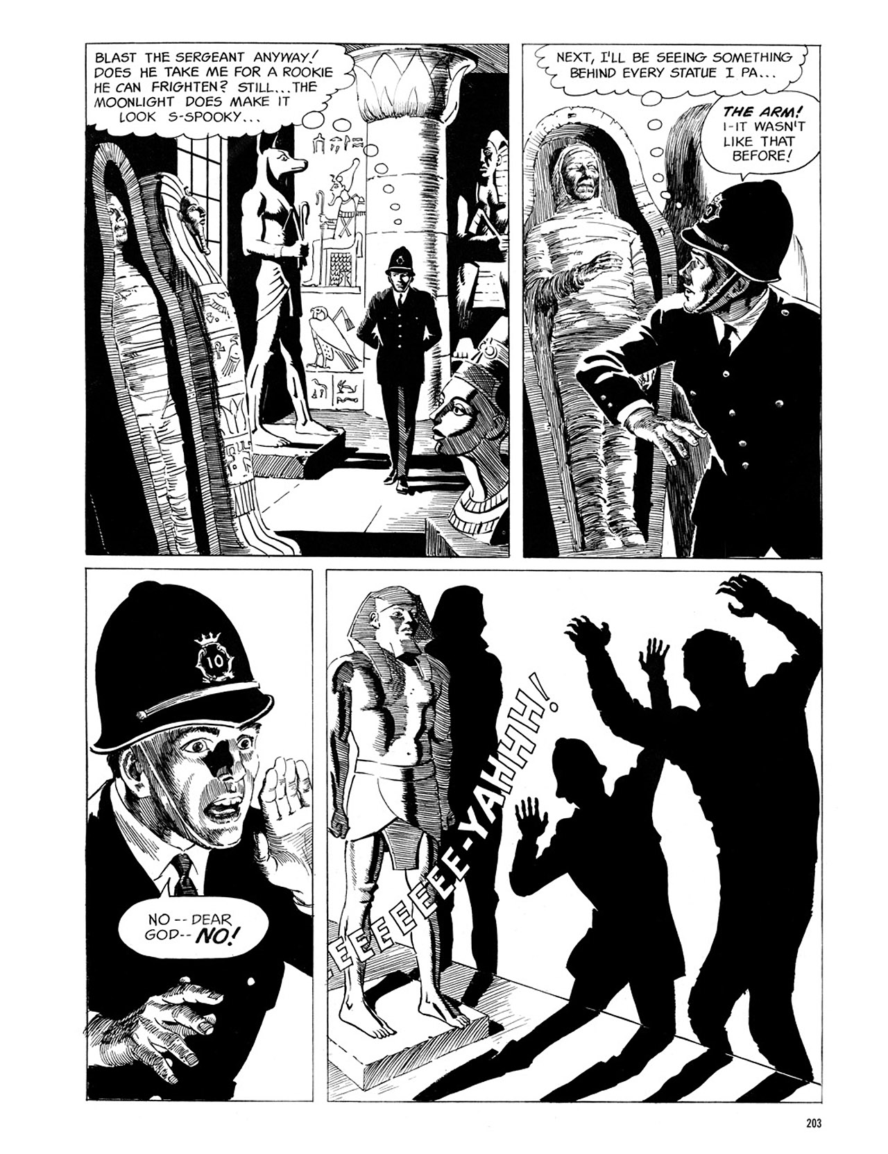 Read online Eerie Archives comic -  Issue # TPB 1 - 204