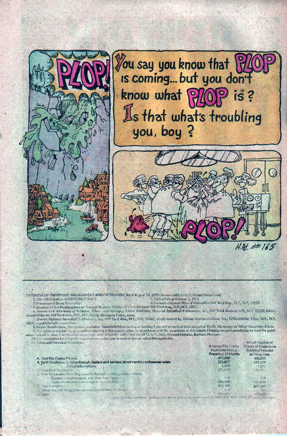 Read online Adventure Comics (1938) comic -  Issue #427 - 22
