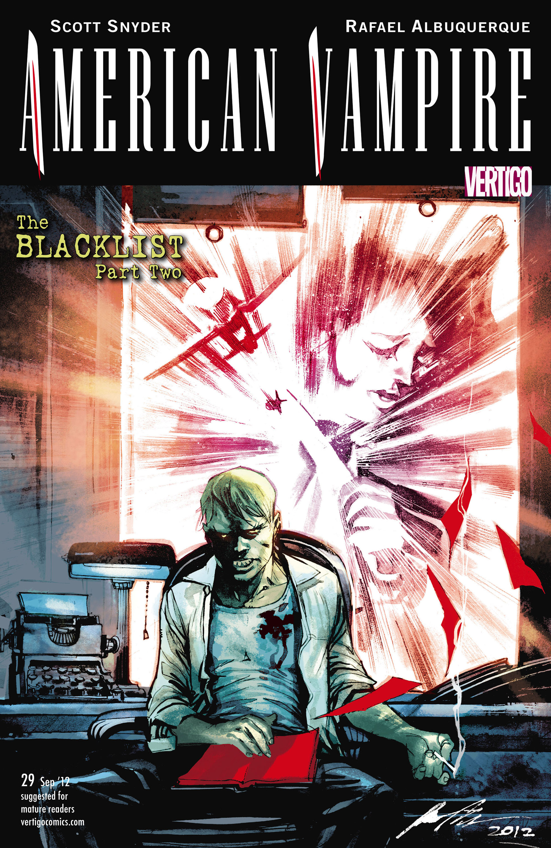 Read online American Vampire comic -  Issue #29 - 1