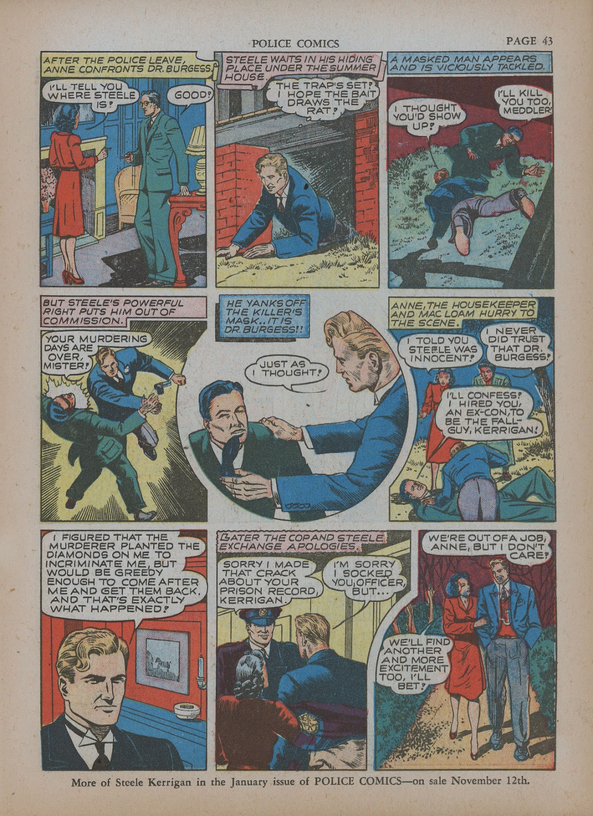 Police Comics issue 5 - Page 47