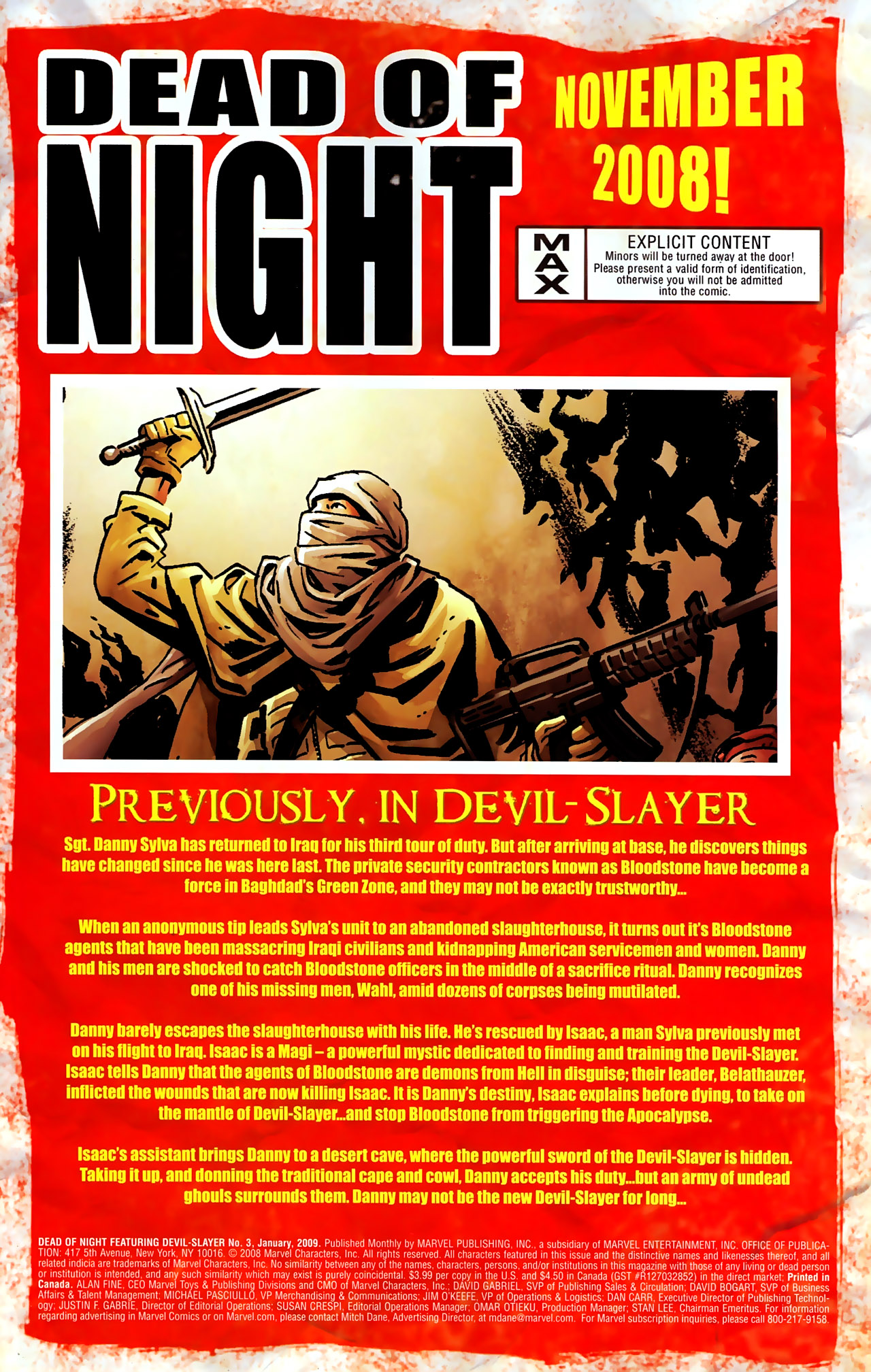 Read online Dead of Night Featuring Devil-Slayer comic -  Issue #3 - 2