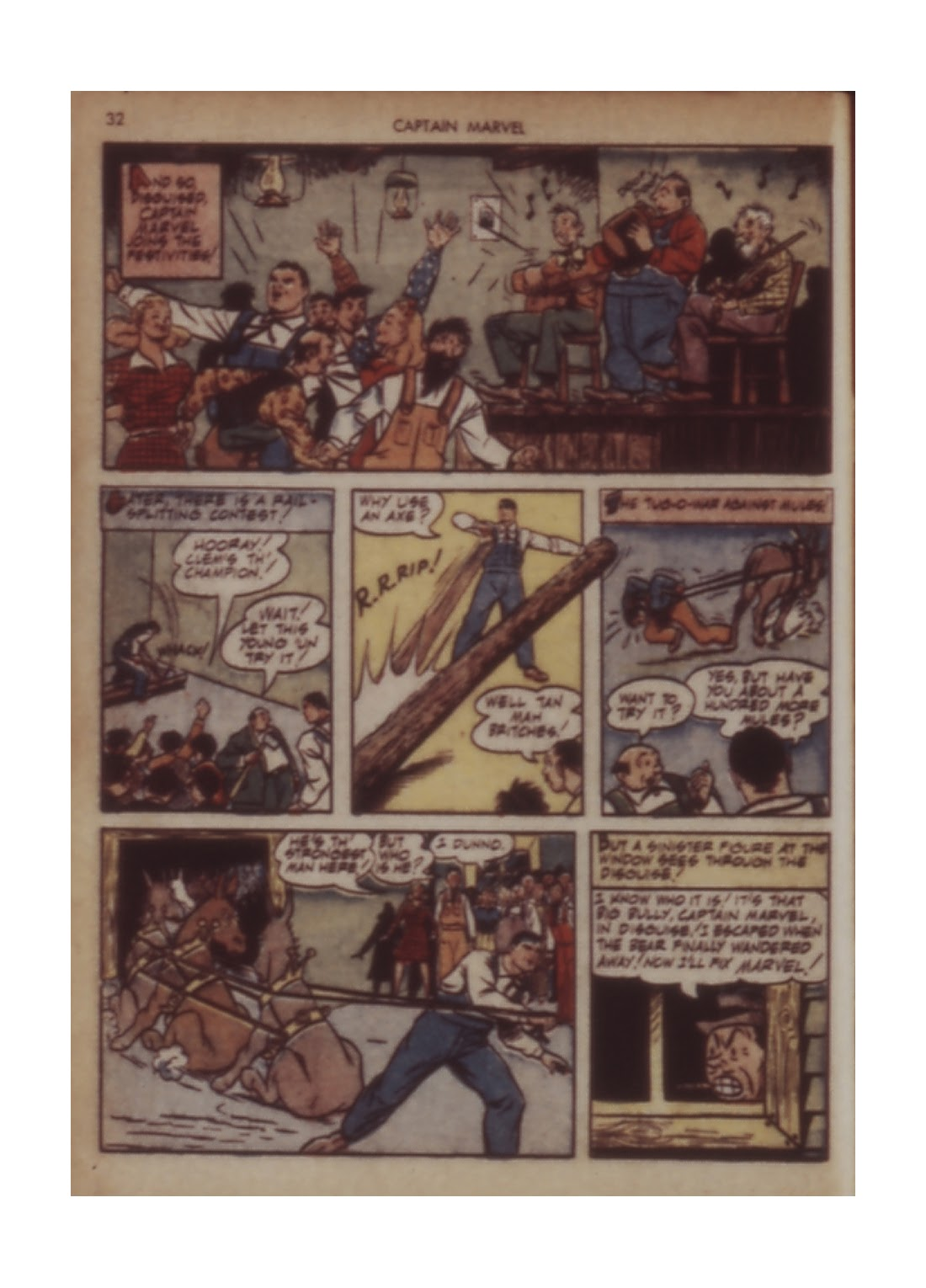 Captain Marvel Adventures issue 11 - Page 32