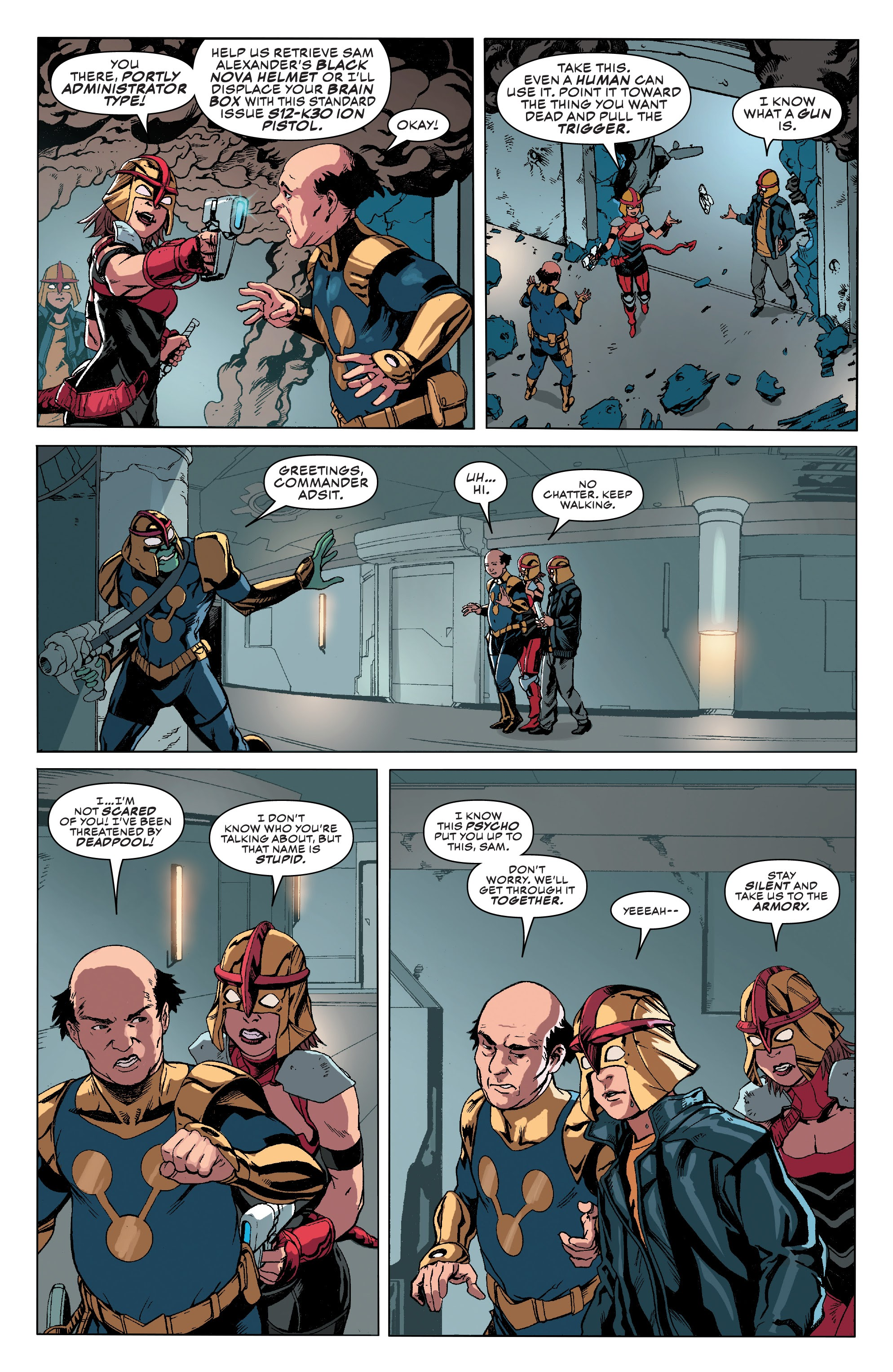 Read online Champions (2019) comic -  Issue #7 - 18
