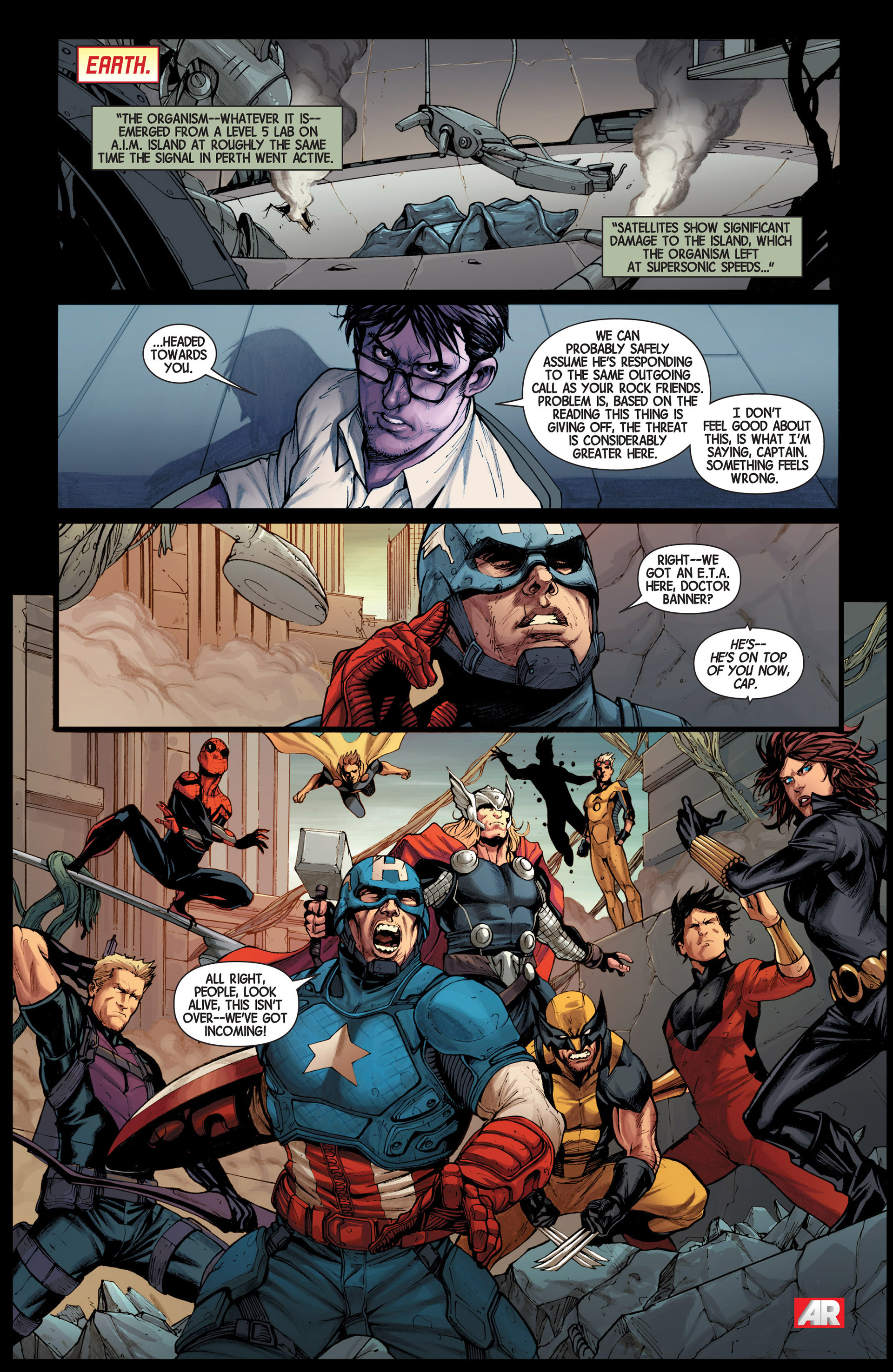 Read online Avengers (2013) comic -  Issue #16 - 9