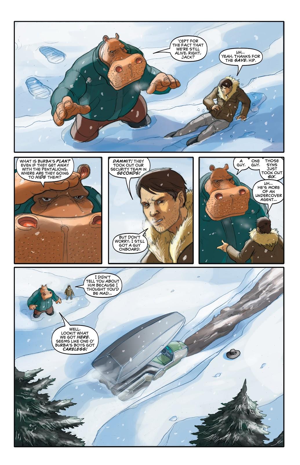 Read online Elephantmen 2261 Season Two: The Pentalion Job comic -  Issue # TPB - 44