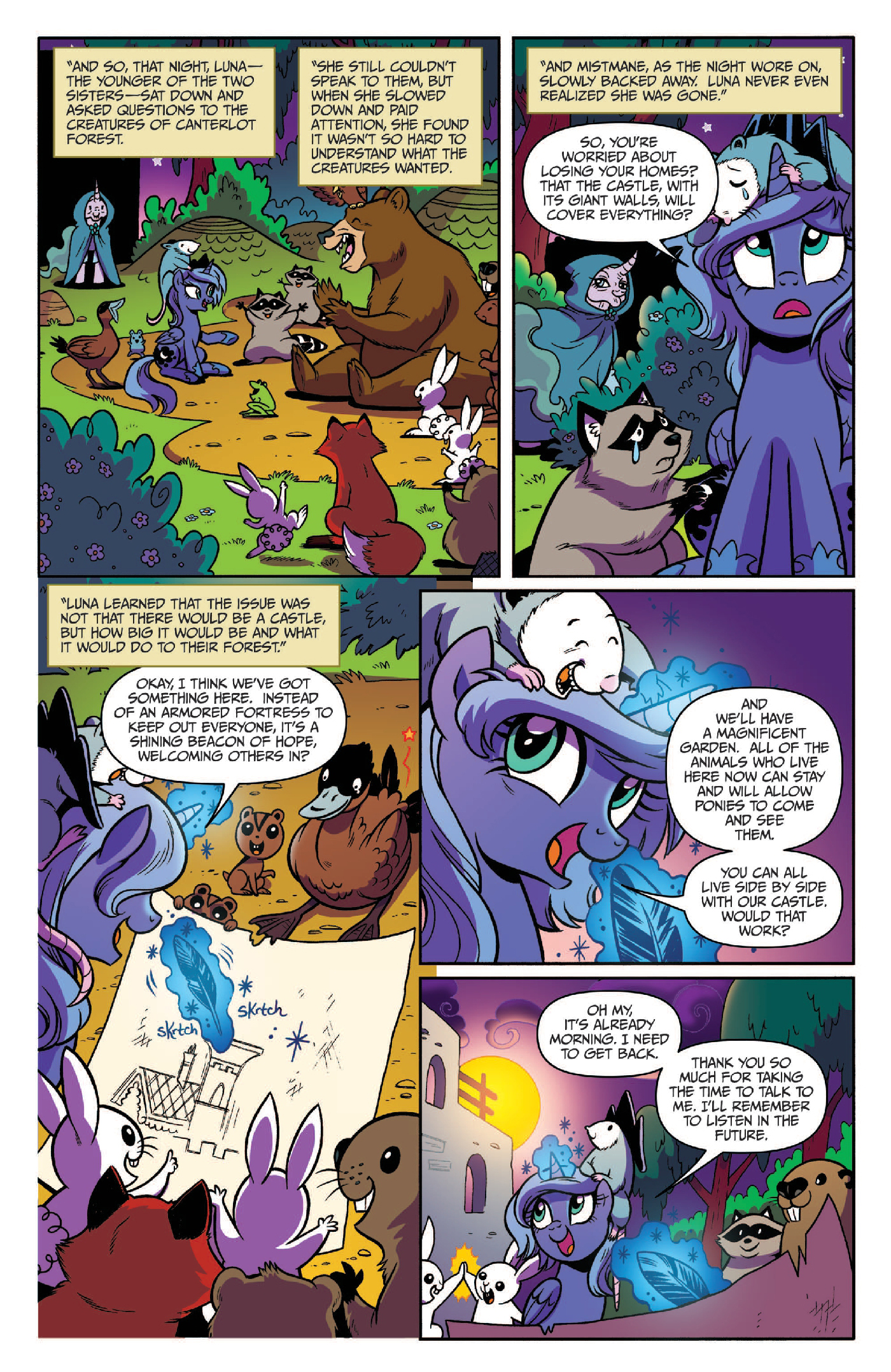 Read online My Little Pony: Legends of Magic comic -  Issue #3 - 16