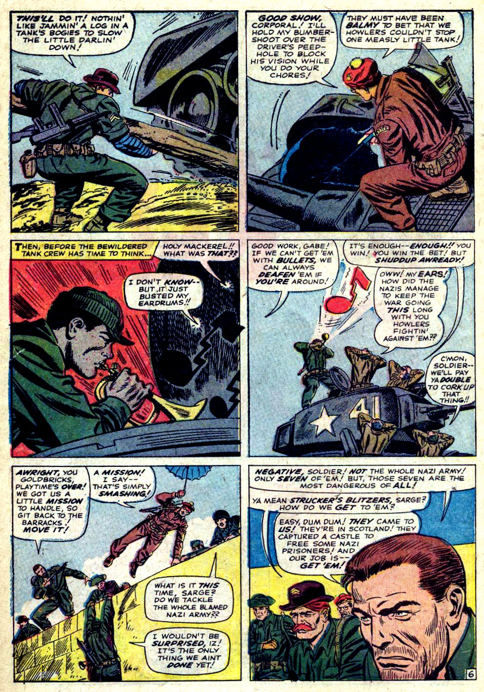 Read online Sgt. Fury comic -  Issue #20 - 10