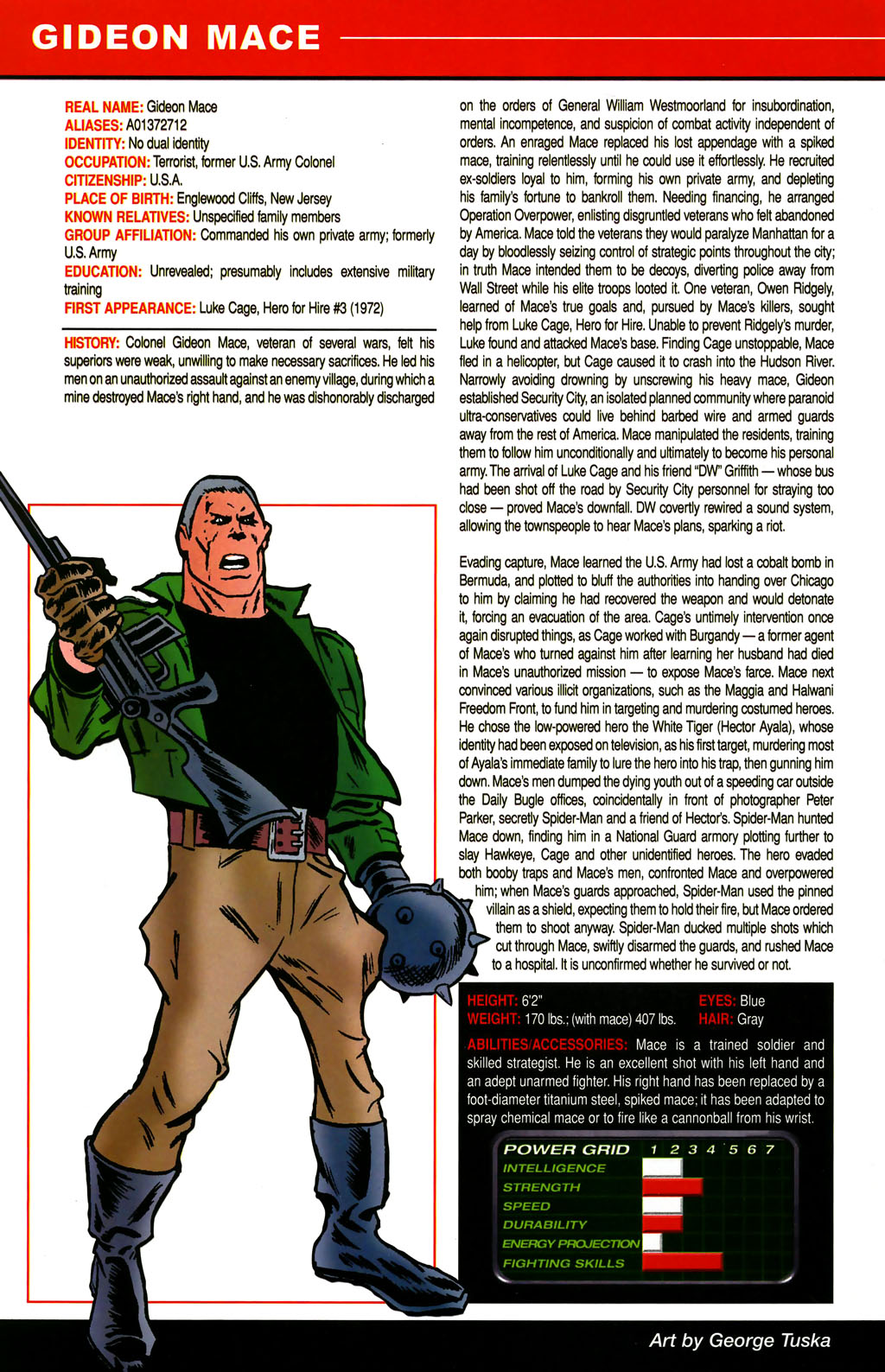 Read online All-New Official Handbook of the Marvel Universe A to Z comic -  Issue #6 - 40