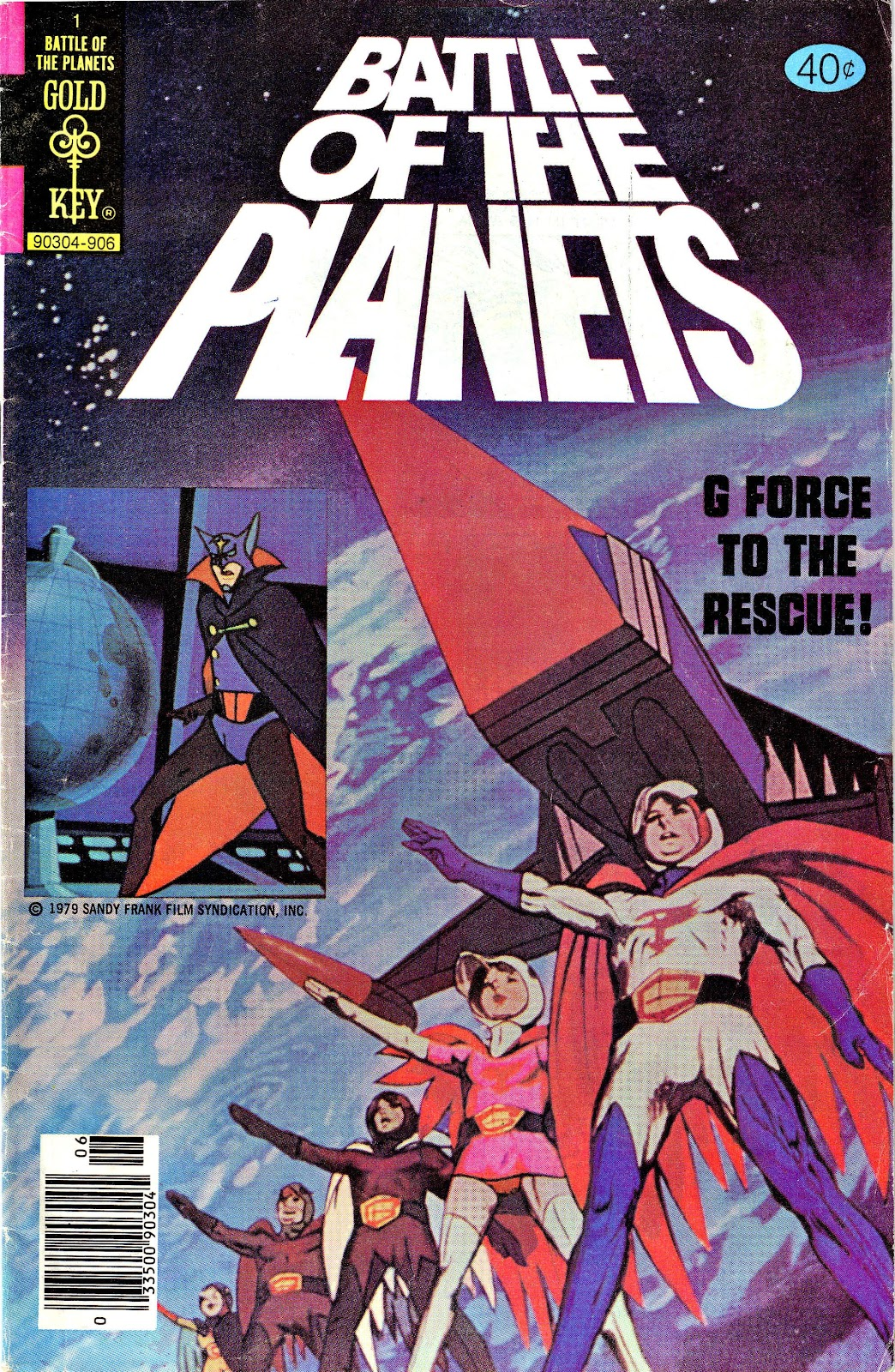 Battle of the Planets (1979) 1 Page 1