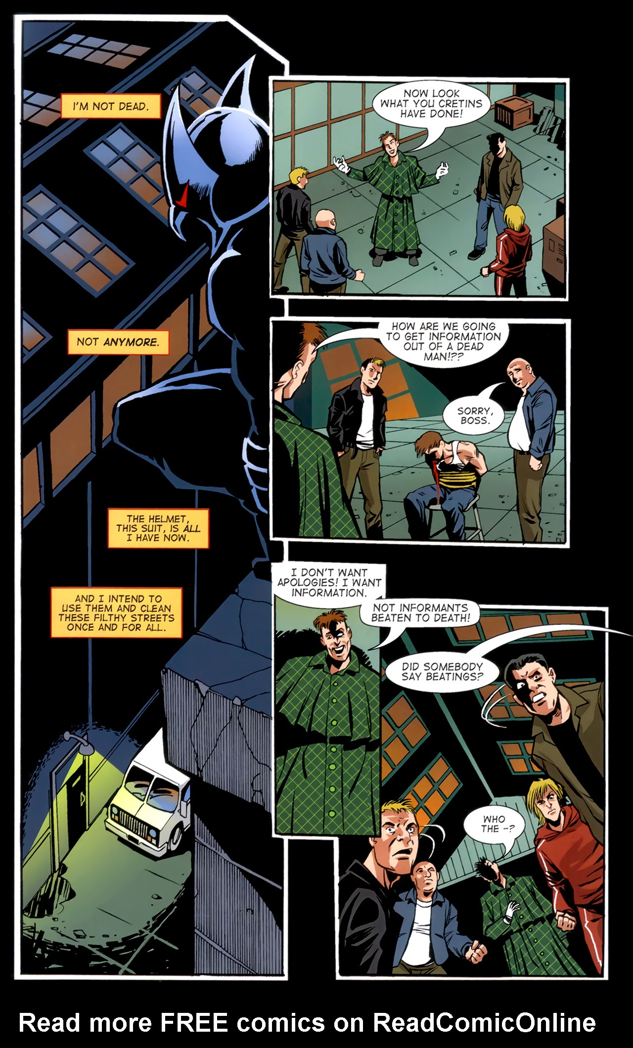 Read online ShadowHawk (2010) comic -  Issue #1 - 26