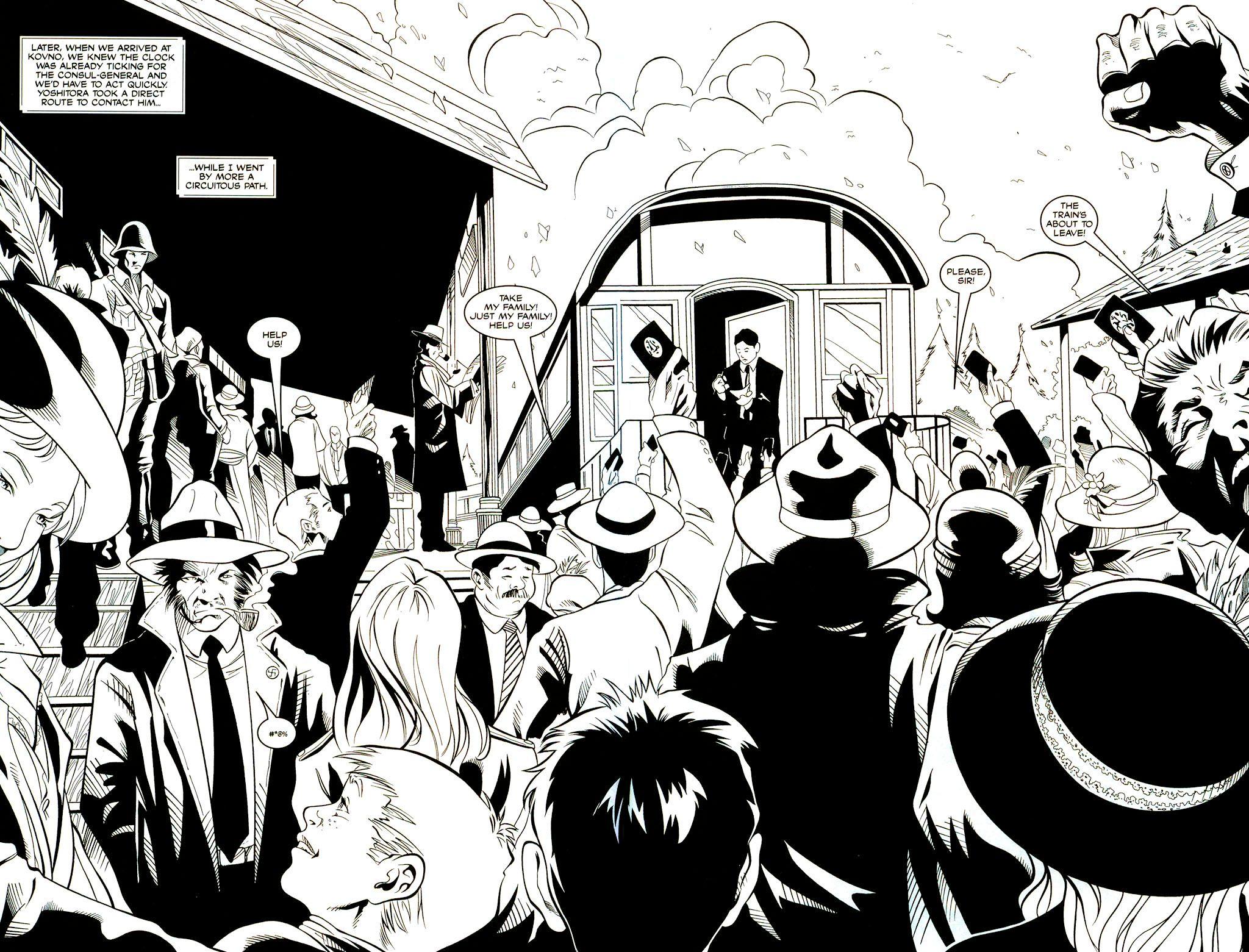 Read online Shi: Sempo comic -  Issue #1 - 6