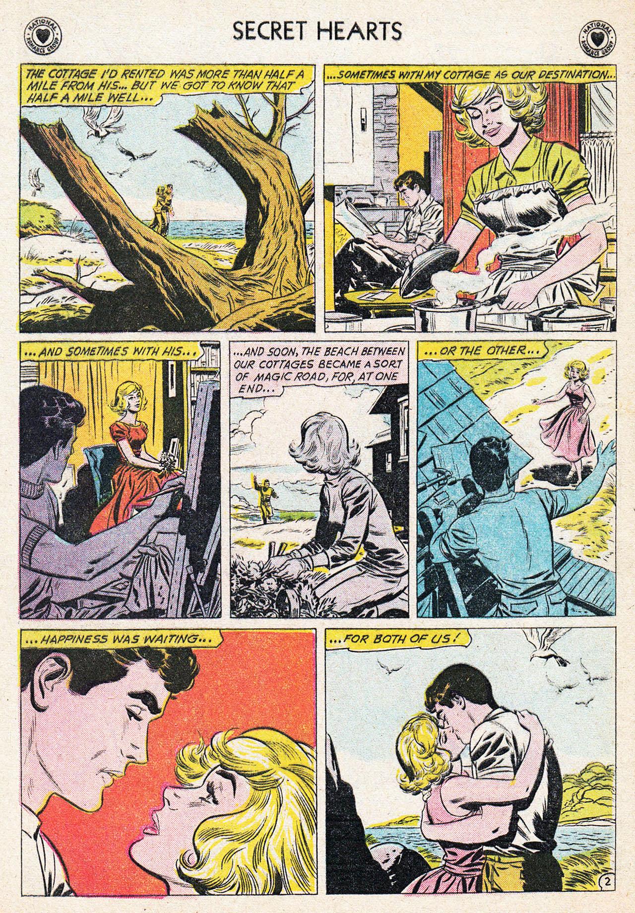 Read online Secret Hearts comic -  Issue #75 - 4