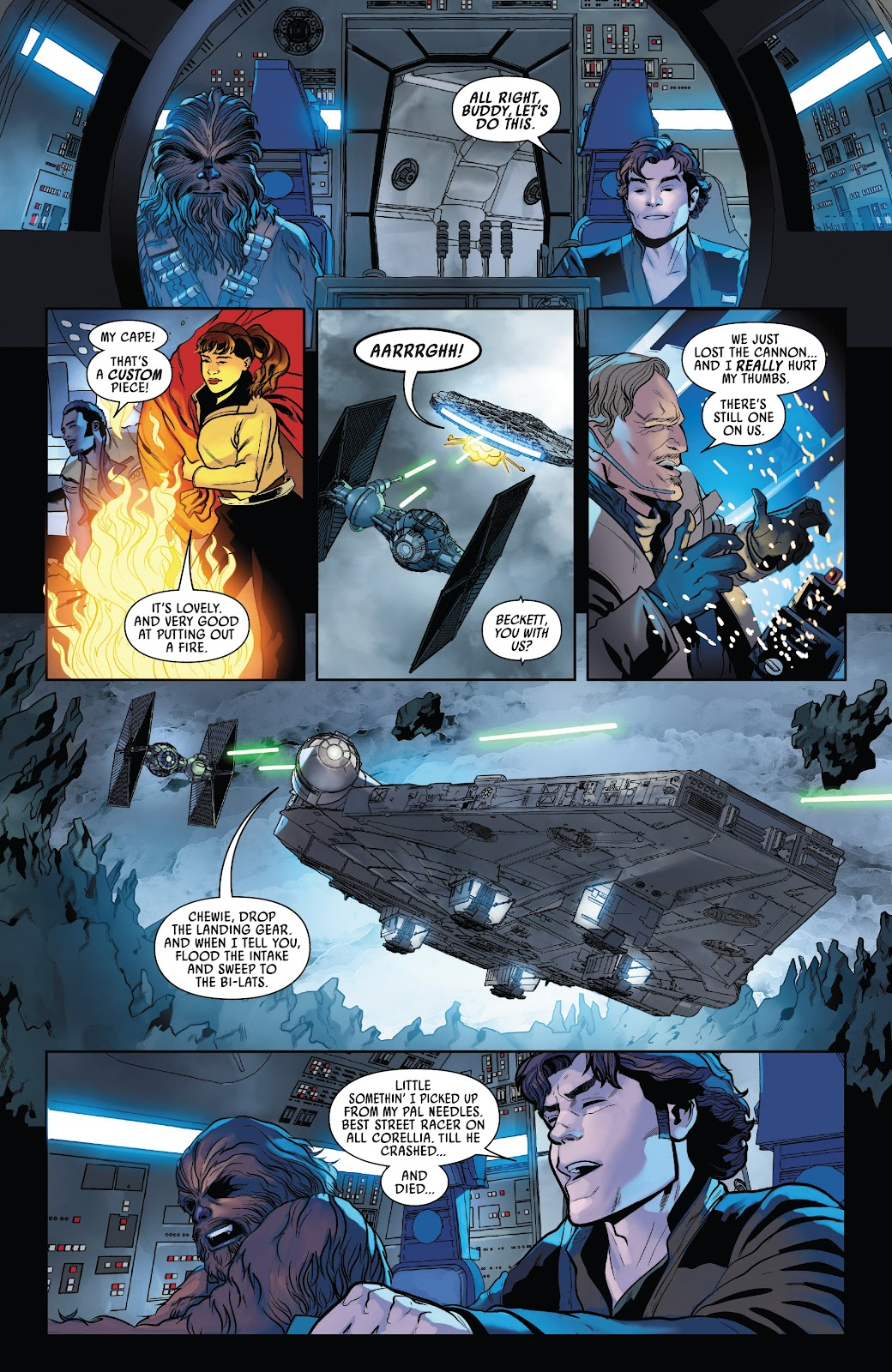 Read online Solo: A Star Wars Story Adaptation comic -  Issue #5 - 7
