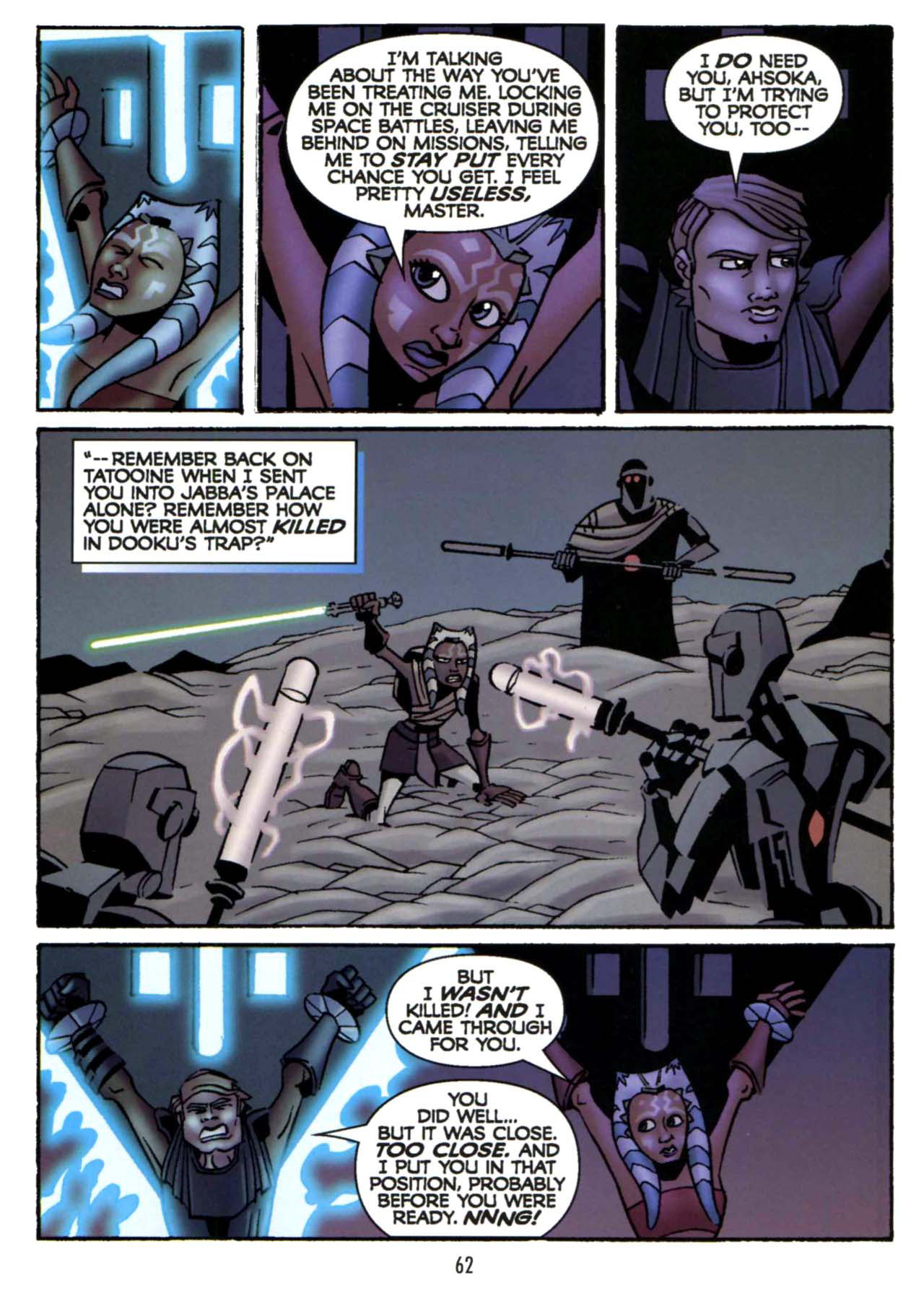 Read online Star Wars: The Clone Wars - Shipyards of Doom comic -  Issue # Full - 60
