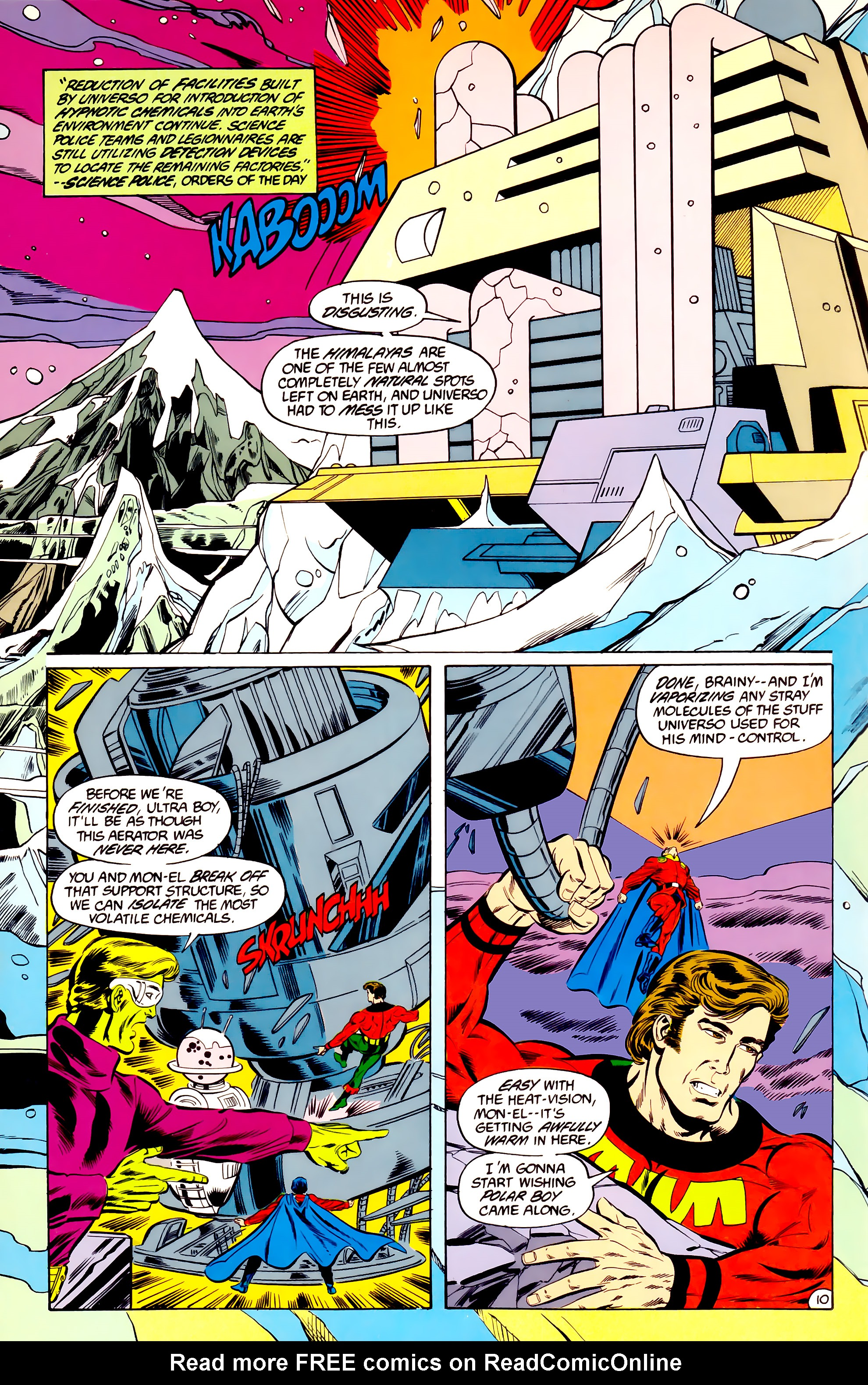 Legion of Super-Heroes (1984) 36 Page 10