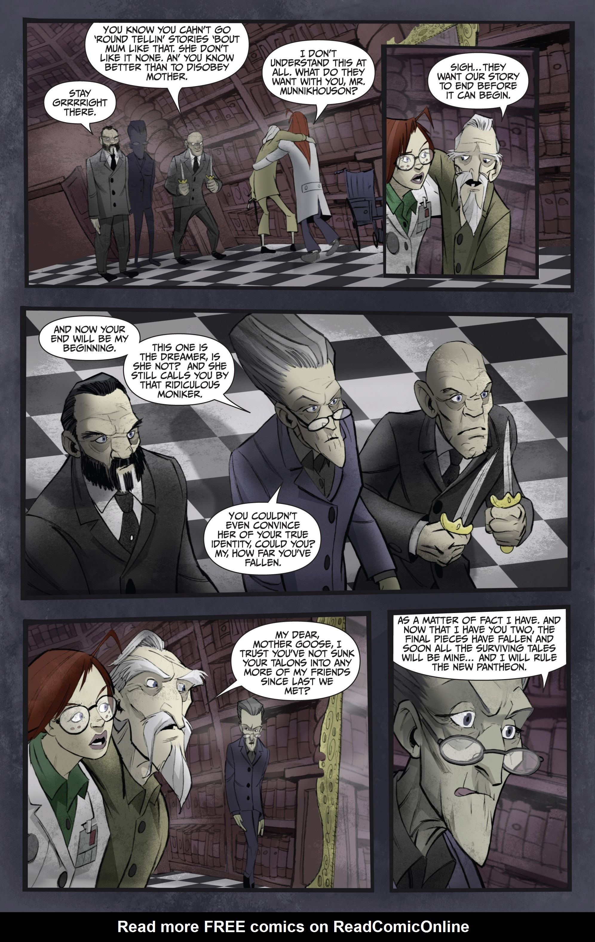 Read online Legendary Talespinners comic -  Issue #1 - 23