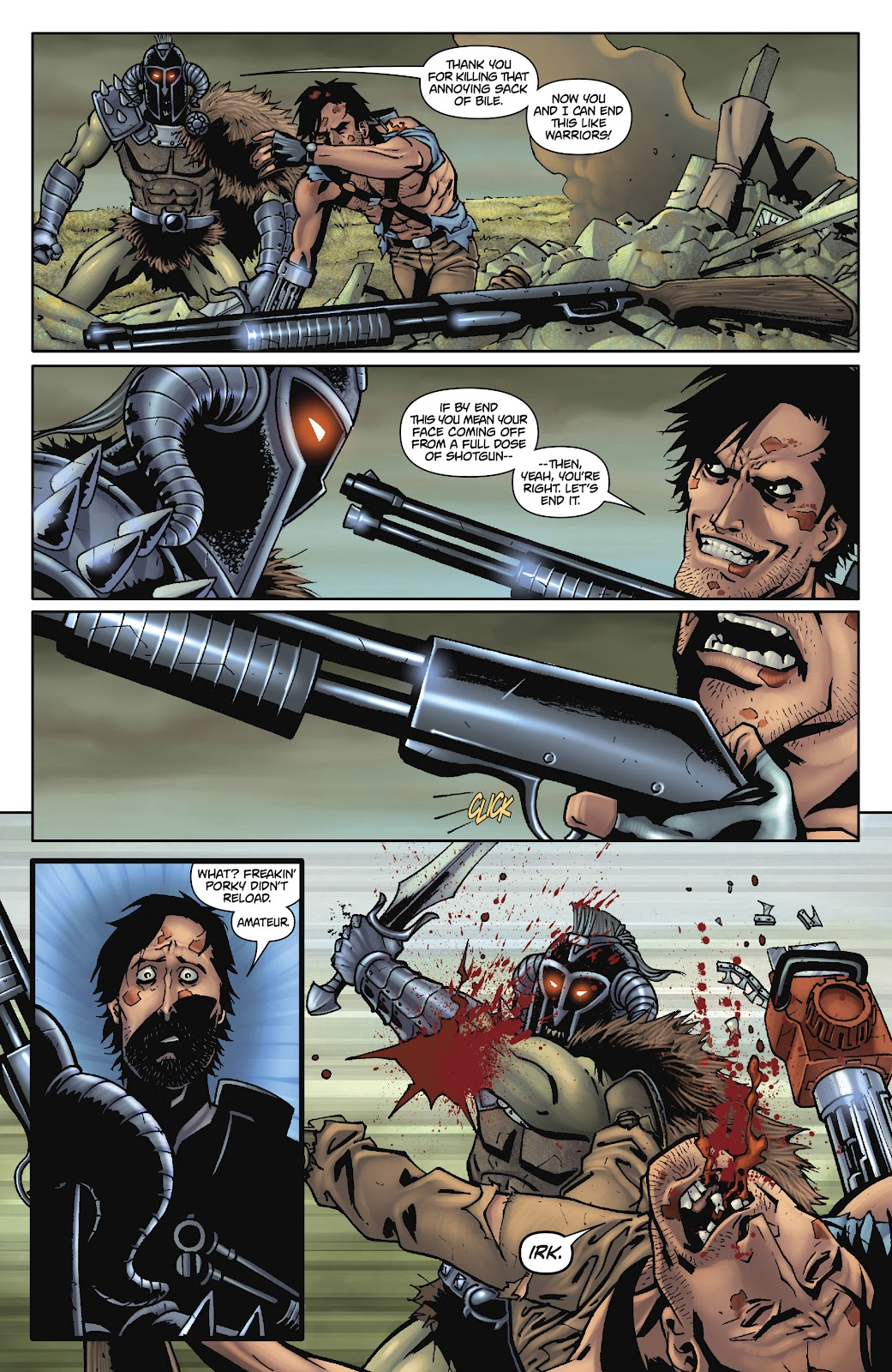 Army of Darkness: The Long Road Home issue TPB - Page 97