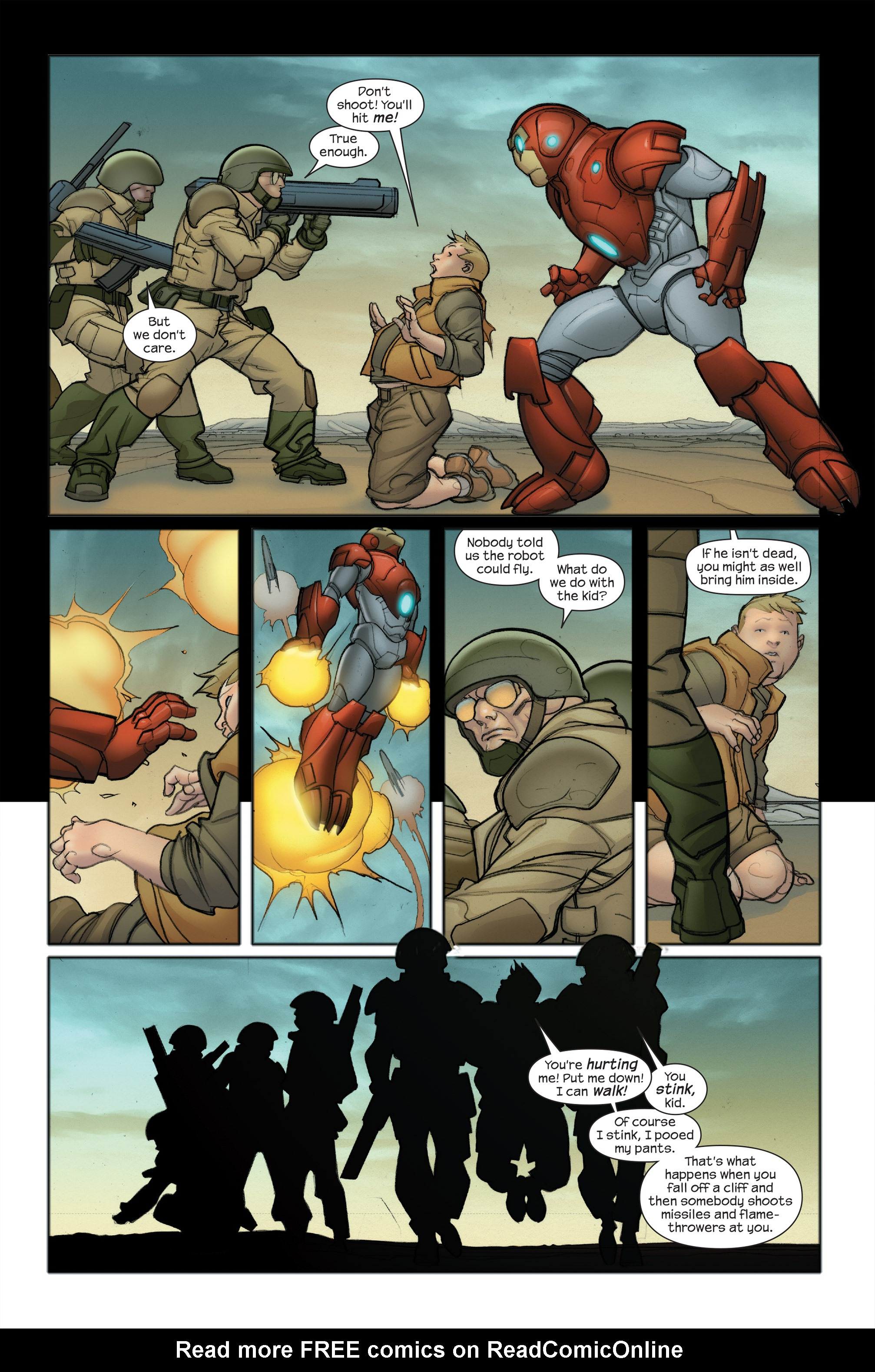 Read online Ultimate Iron Man II comic -  Issue #5 - 10