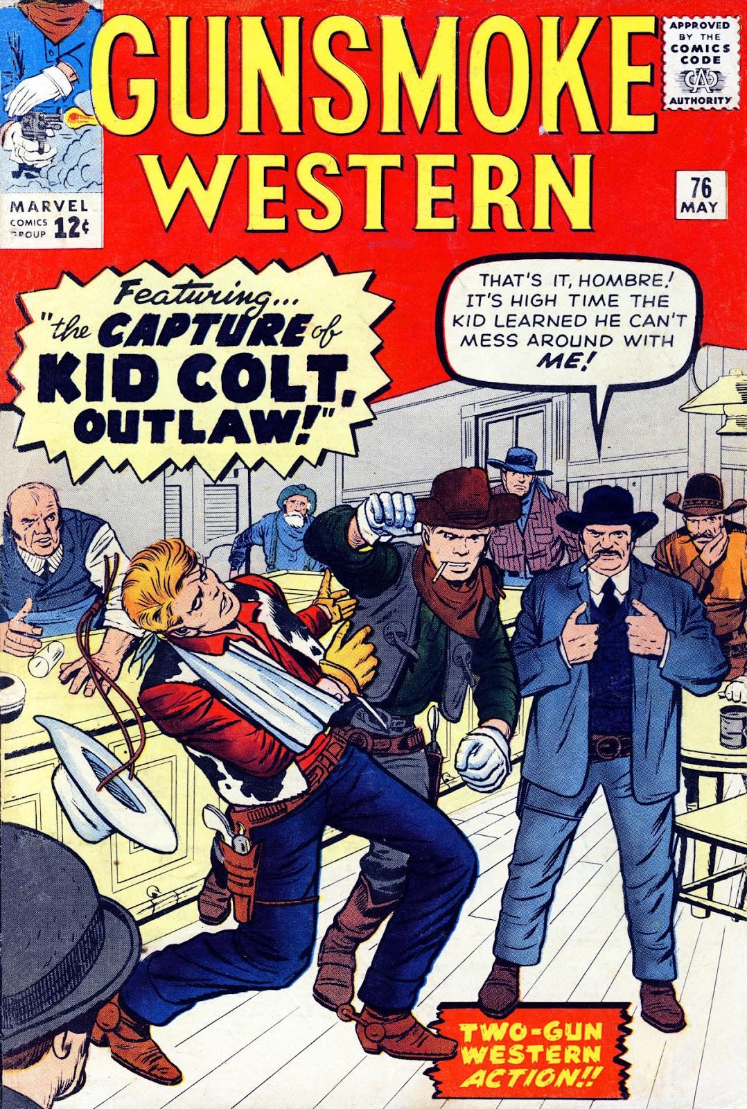 Gunsmoke Western issue 76 - Page 1