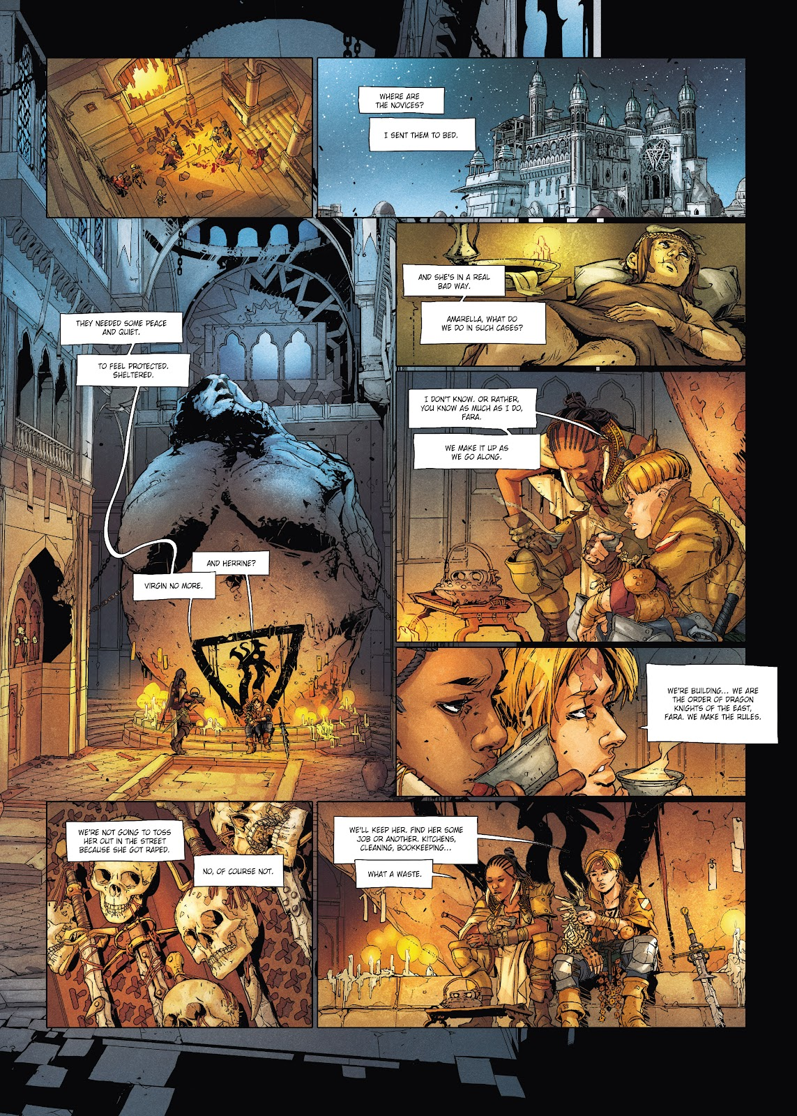 Read online Chronicles of the Dragon Knights comic -  Issue #20 - 30