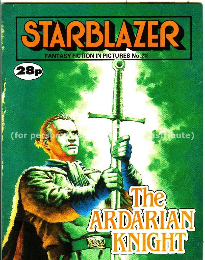 Starblazer issue 218 - Page 1