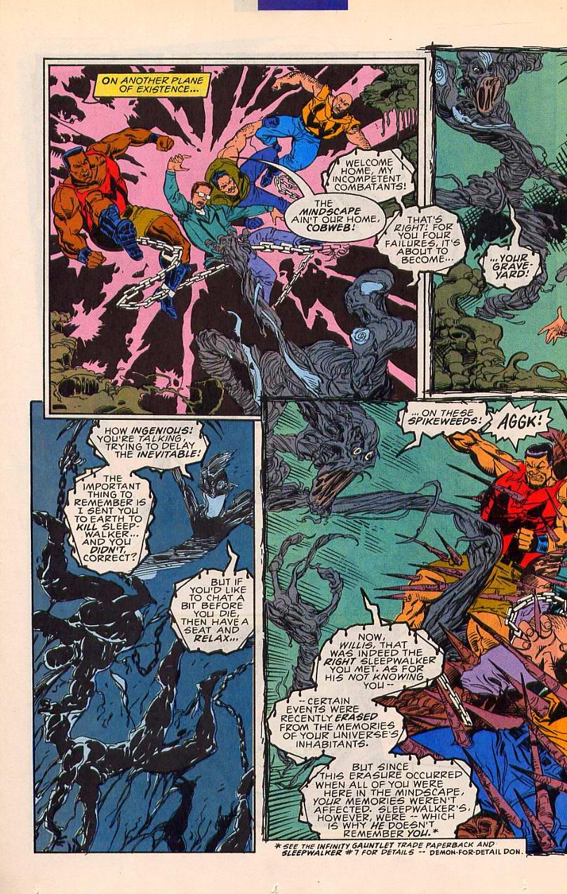 Read online Sleepwalker comic -  Issue #20 - 9