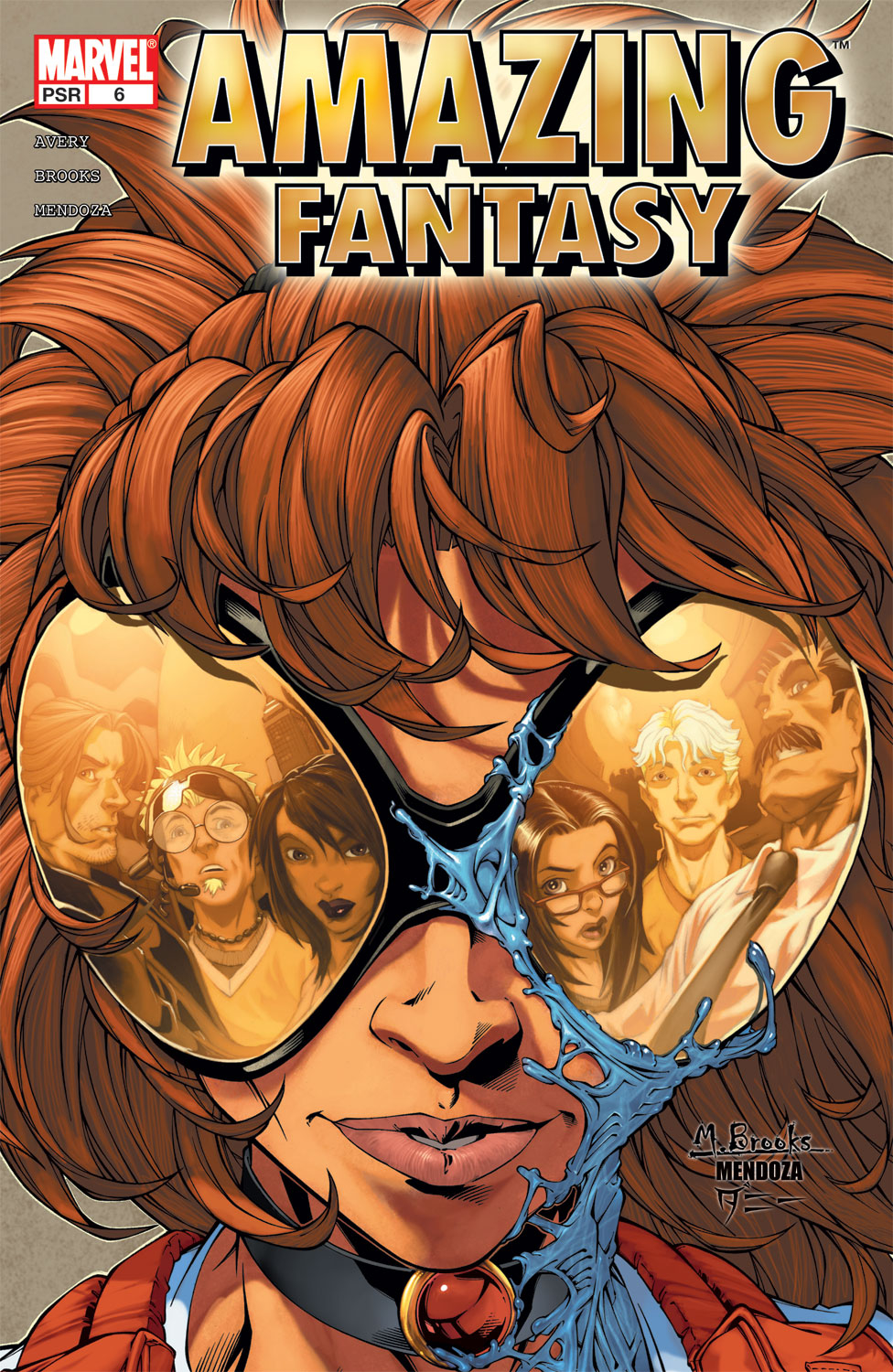 Read online Amazing Fantasy (2004) comic -  Issue #6 - 1