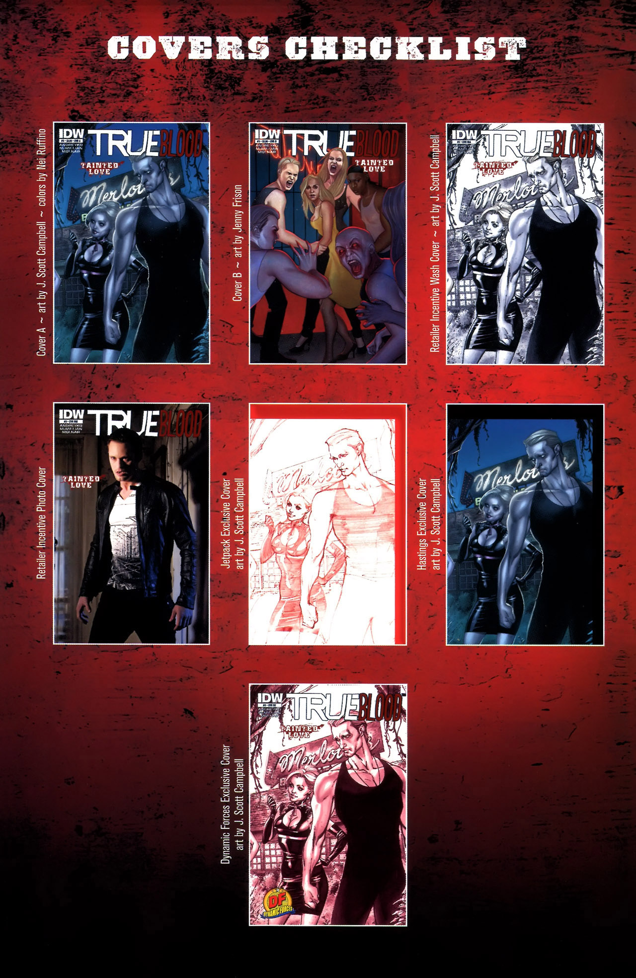 Read online True Blood: Tainted Love comic -  Issue #3 - 31