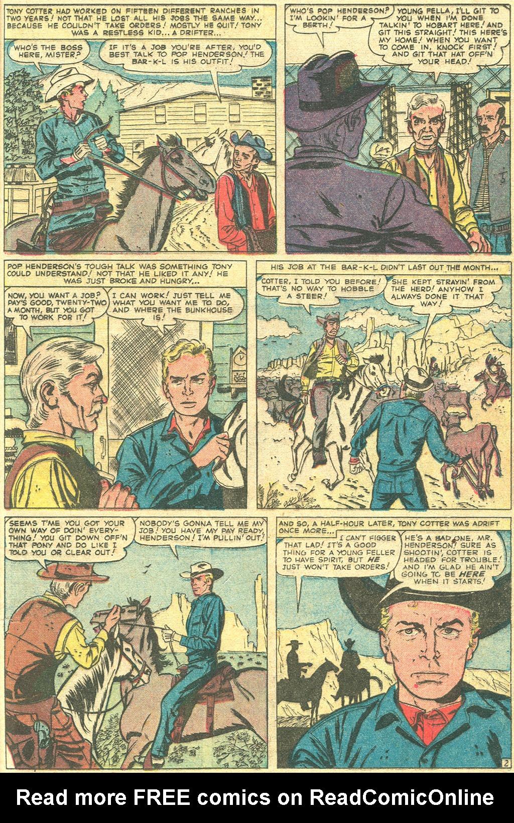 Read online Two-Gun Kid comic -  Issue #44 - 21