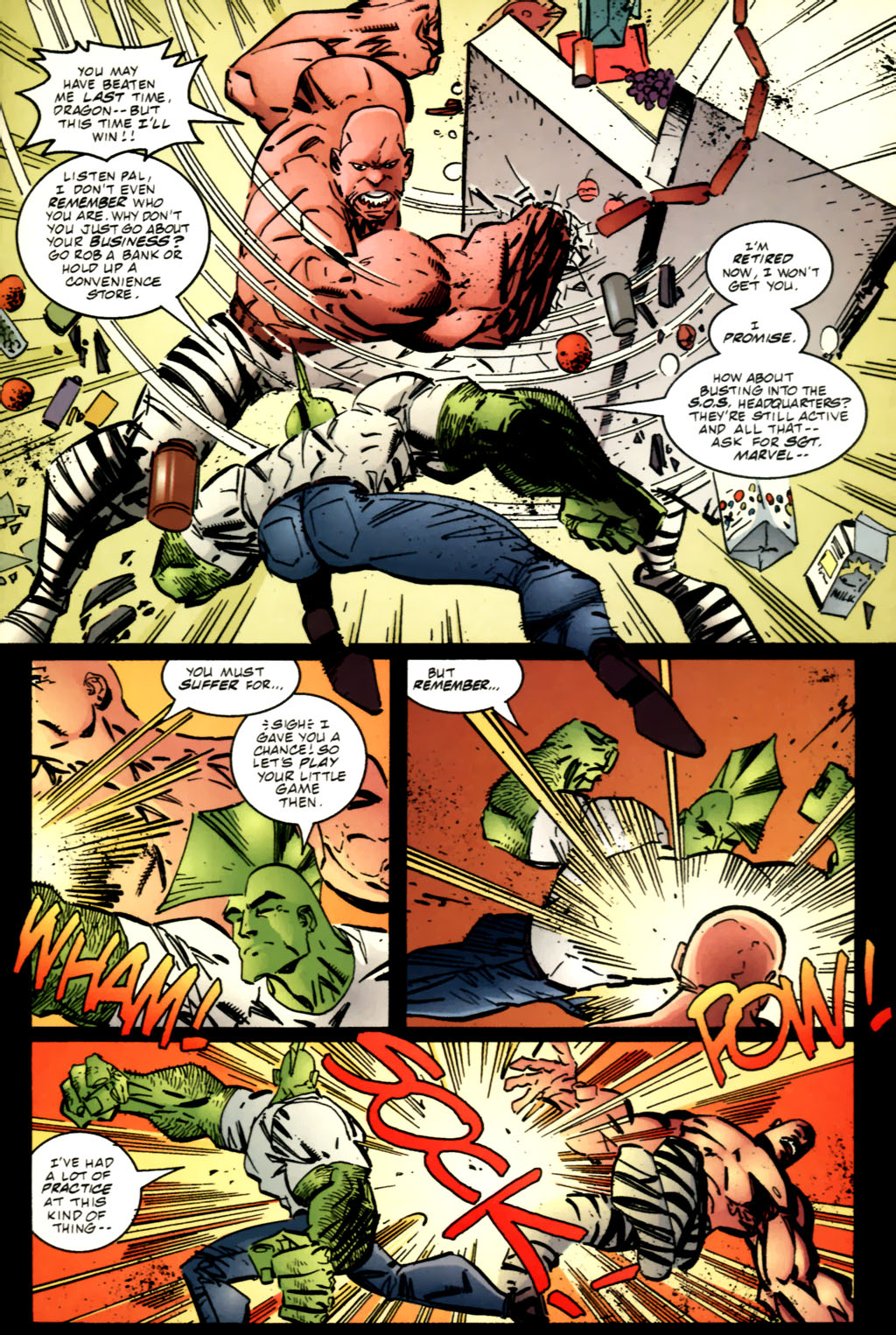 The Savage Dragon (1993) Issue #63 #66 - English 5