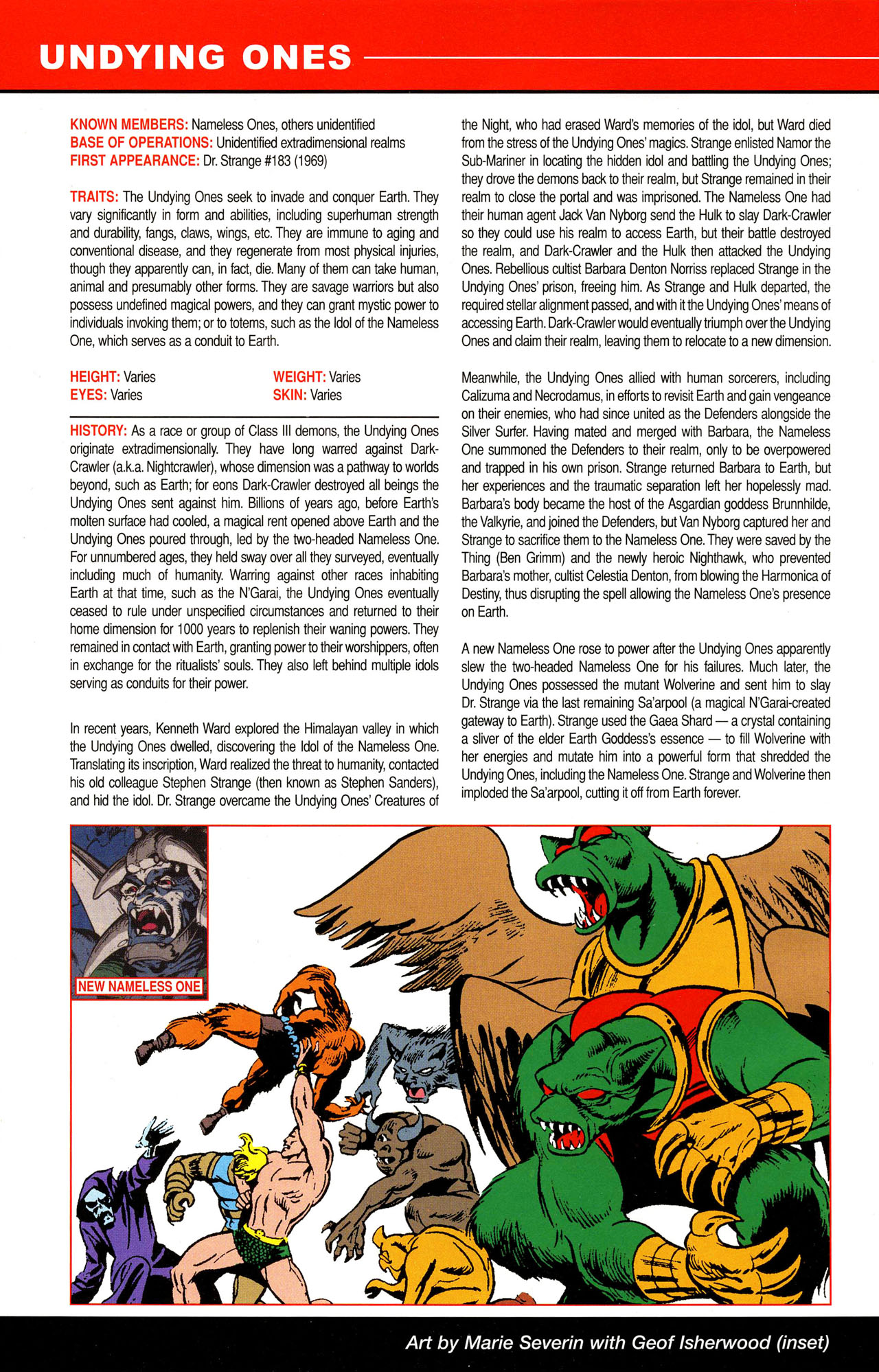 Read online All-New Official Handbook of the Marvel Universe A to Z comic -  Issue #12 - 8