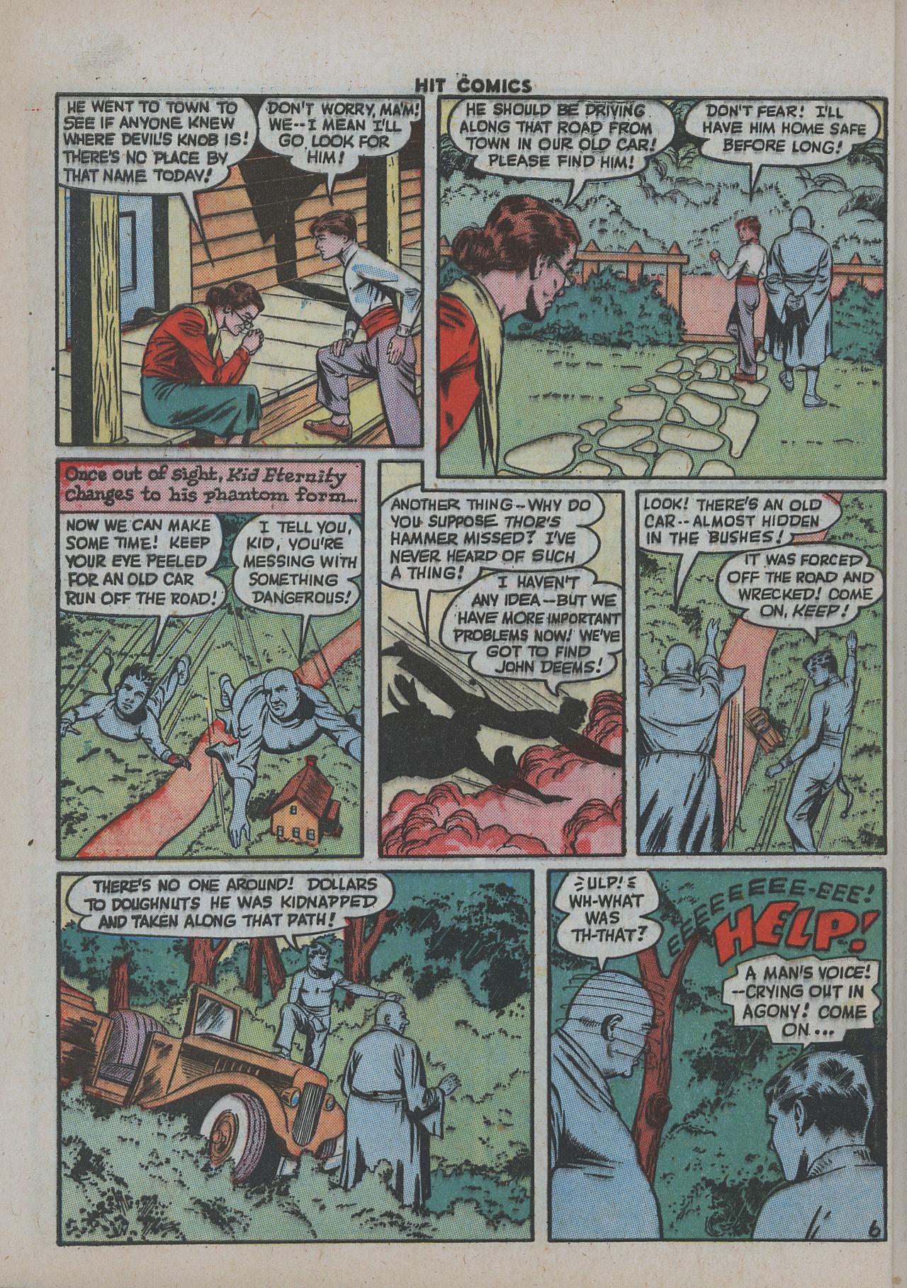 Read online Hit Comics comic -  Issue #38 - 11