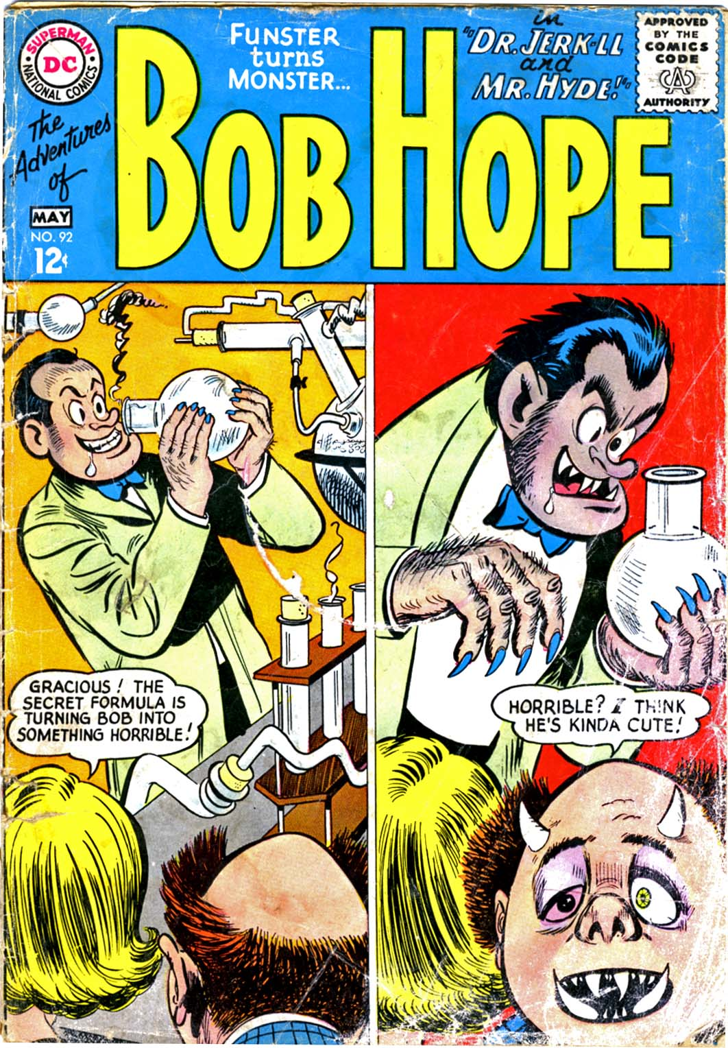 The Adventures of Bob Hope issue 92 - Page 1