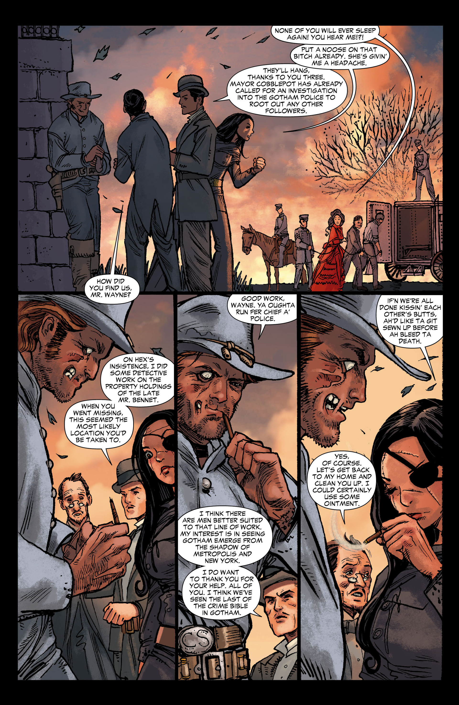 Read online All-Star Western (2011) comic -  Issue #12 - 16